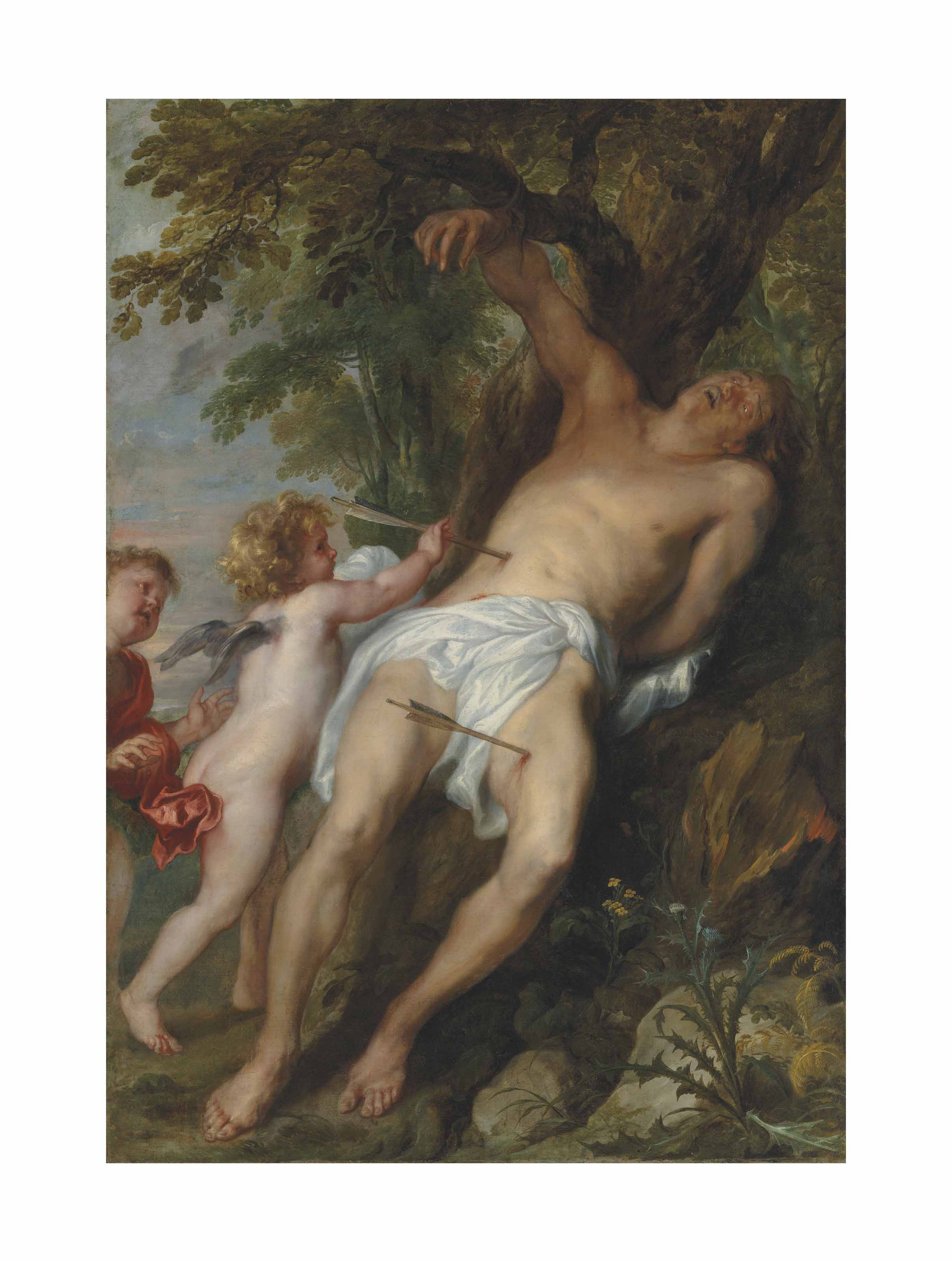 Saint Sebastian after His Ordeal