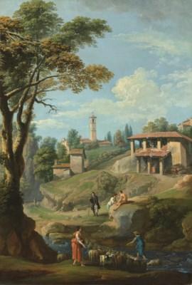 Giuseppe Zocchi (near Florence