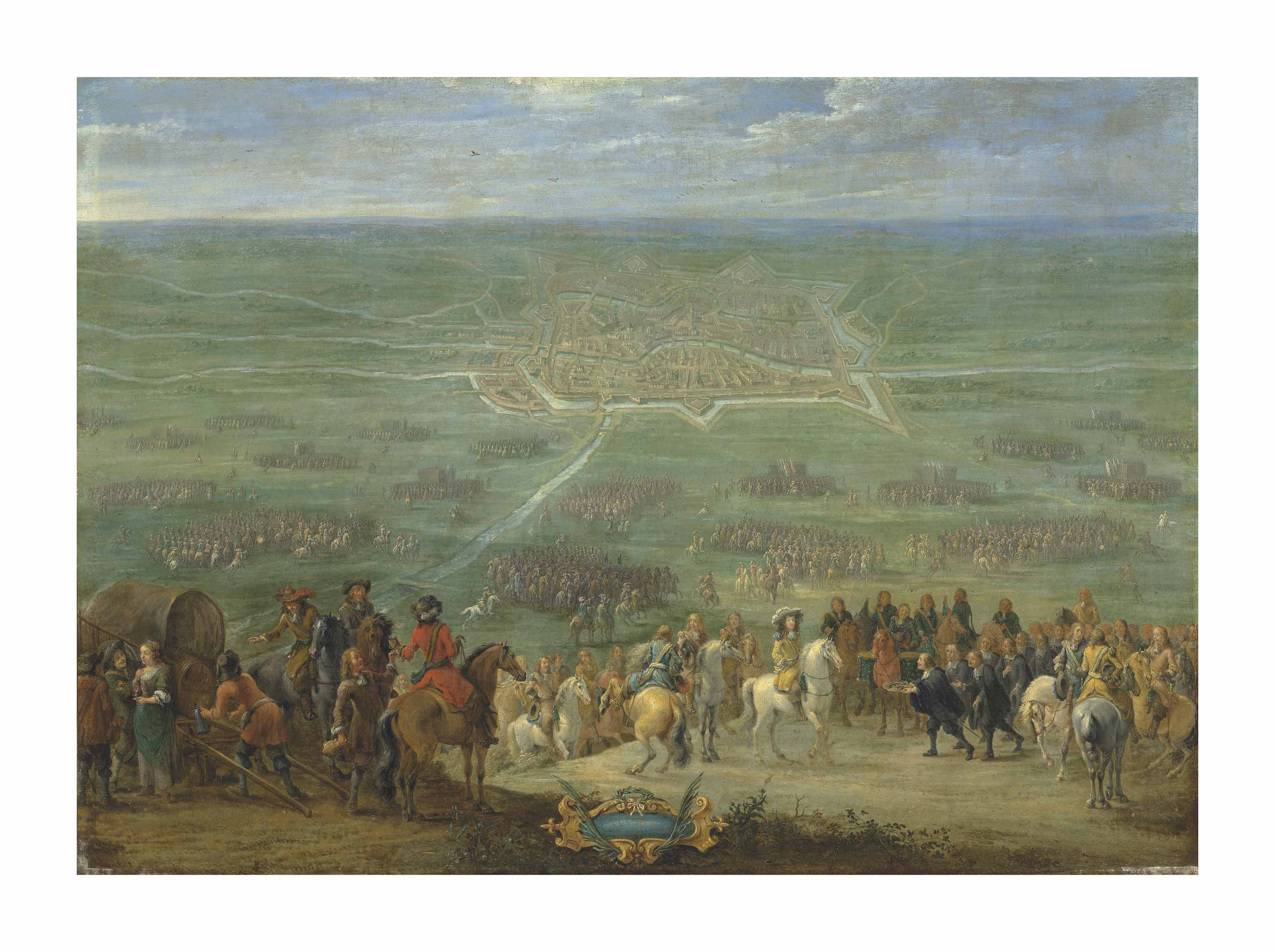 The Surrender of the City of Utrecht, 30 June 1672