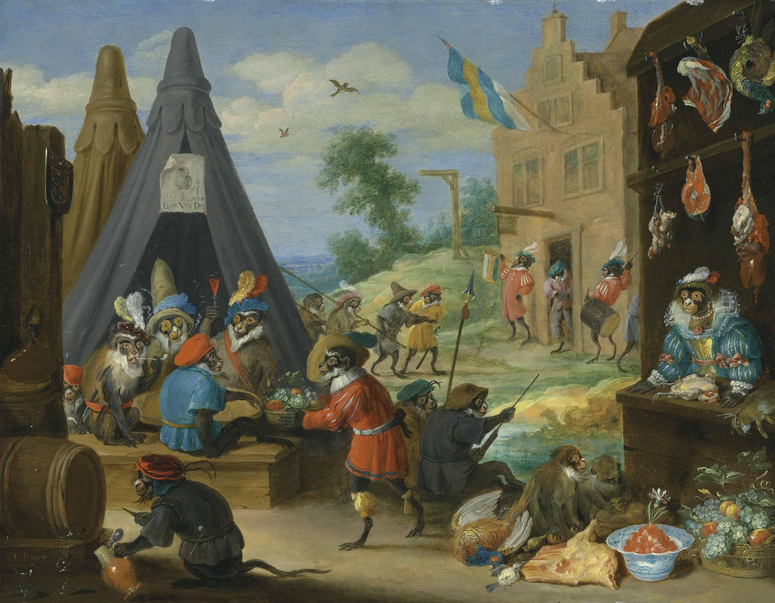A festival of monkeys