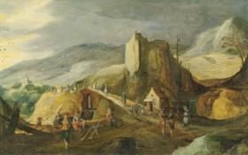 Joos de Momper II (Antwerp 1564-1635) and Sebastian Vrancx (