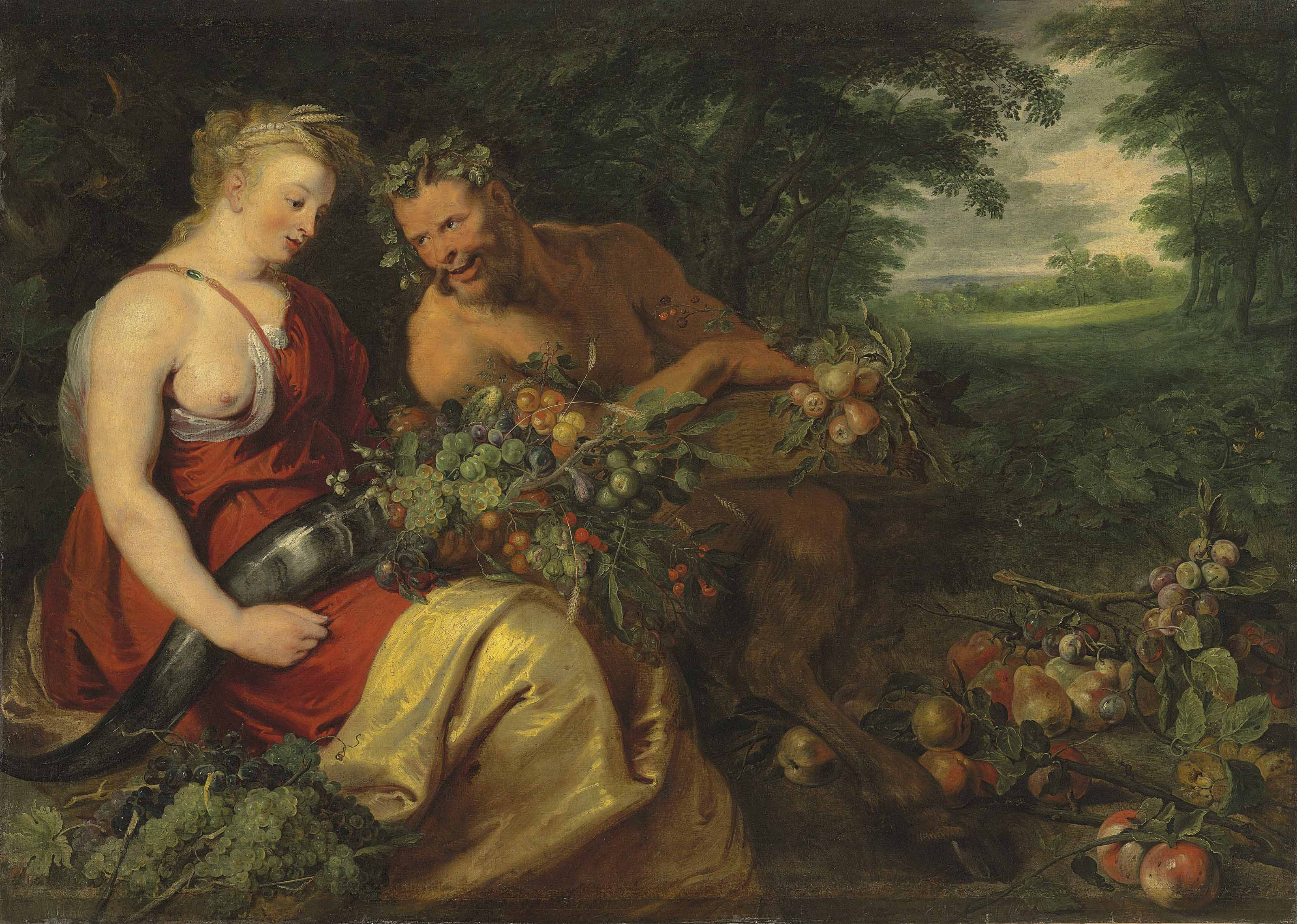 Ceres and Pan