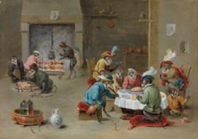 Abraham Teniers (Antwerp 1629-1670)