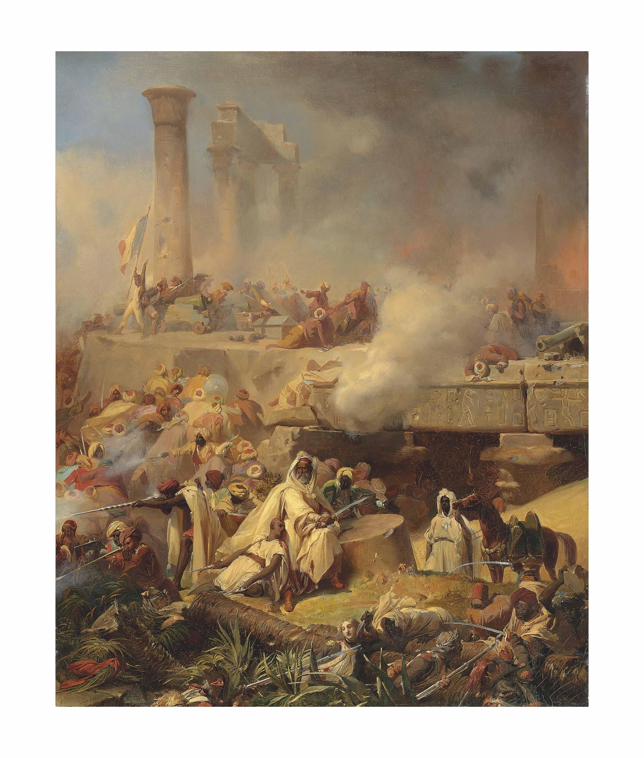 Battle of Heliopolis, Lower Egypt