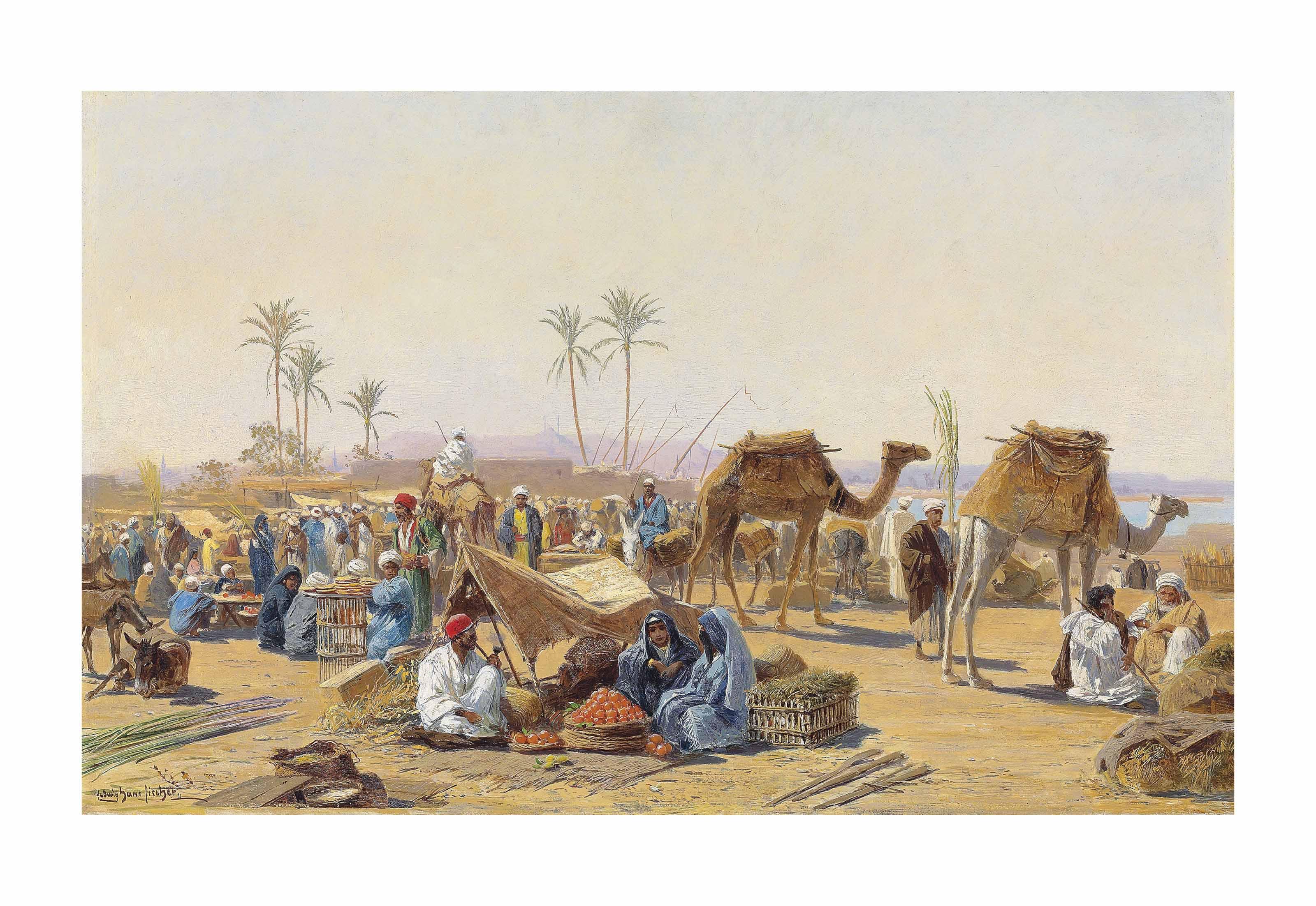 A market in Egypt
