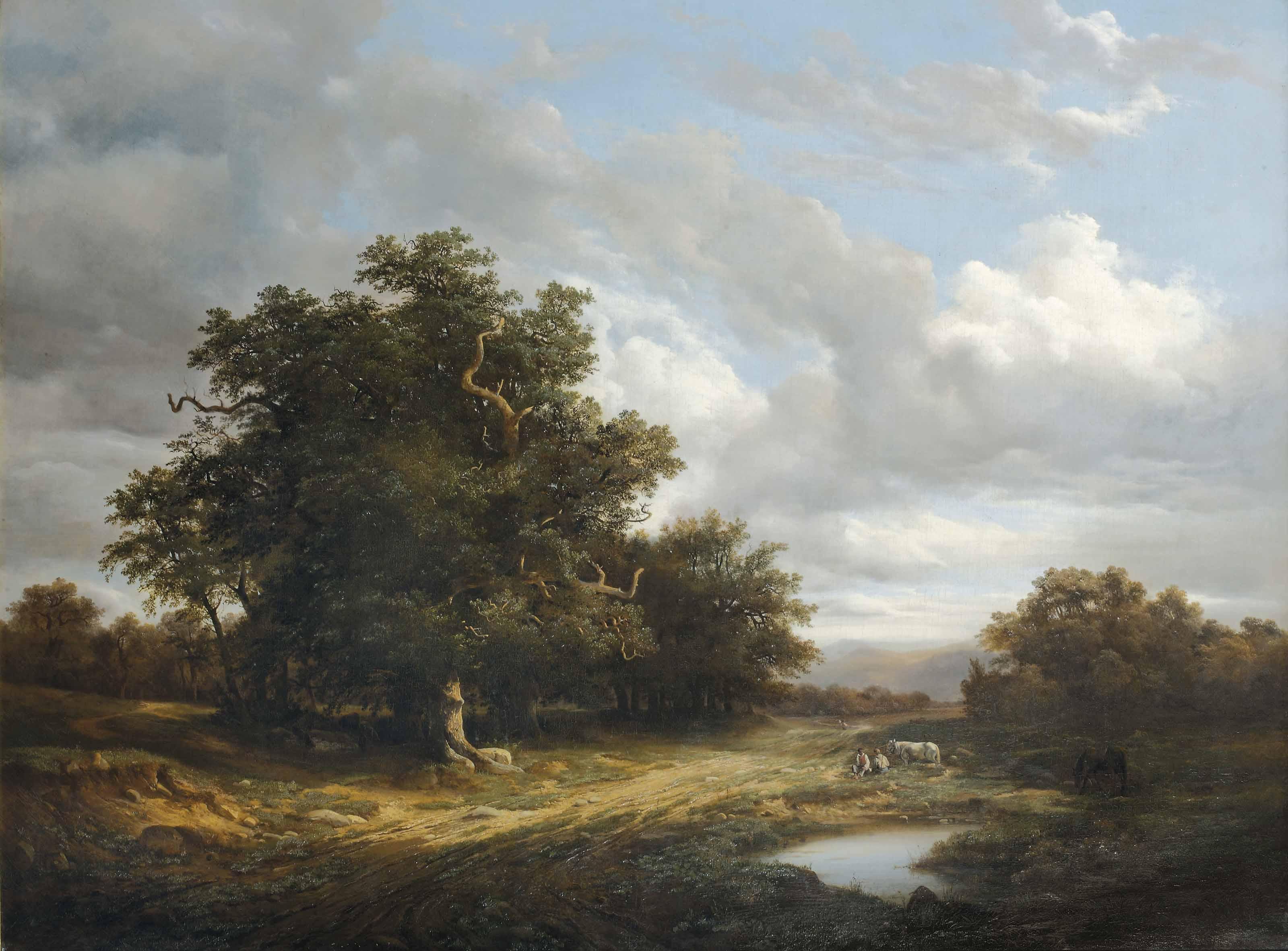 Alexandre Calame (Swiss, 1810-
