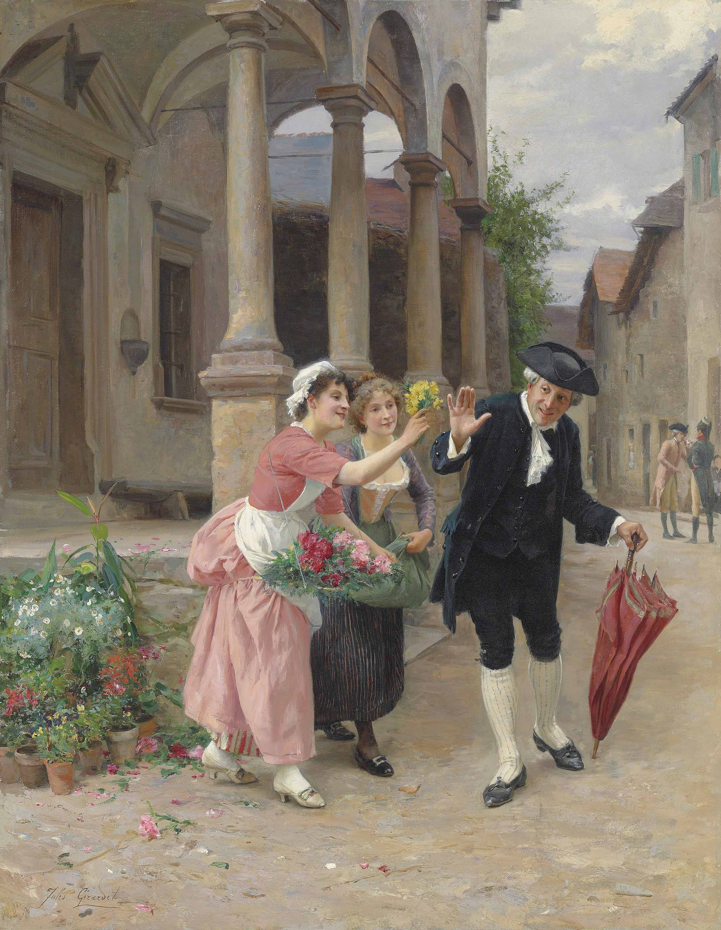 Jules Girardet (French, 1856-1