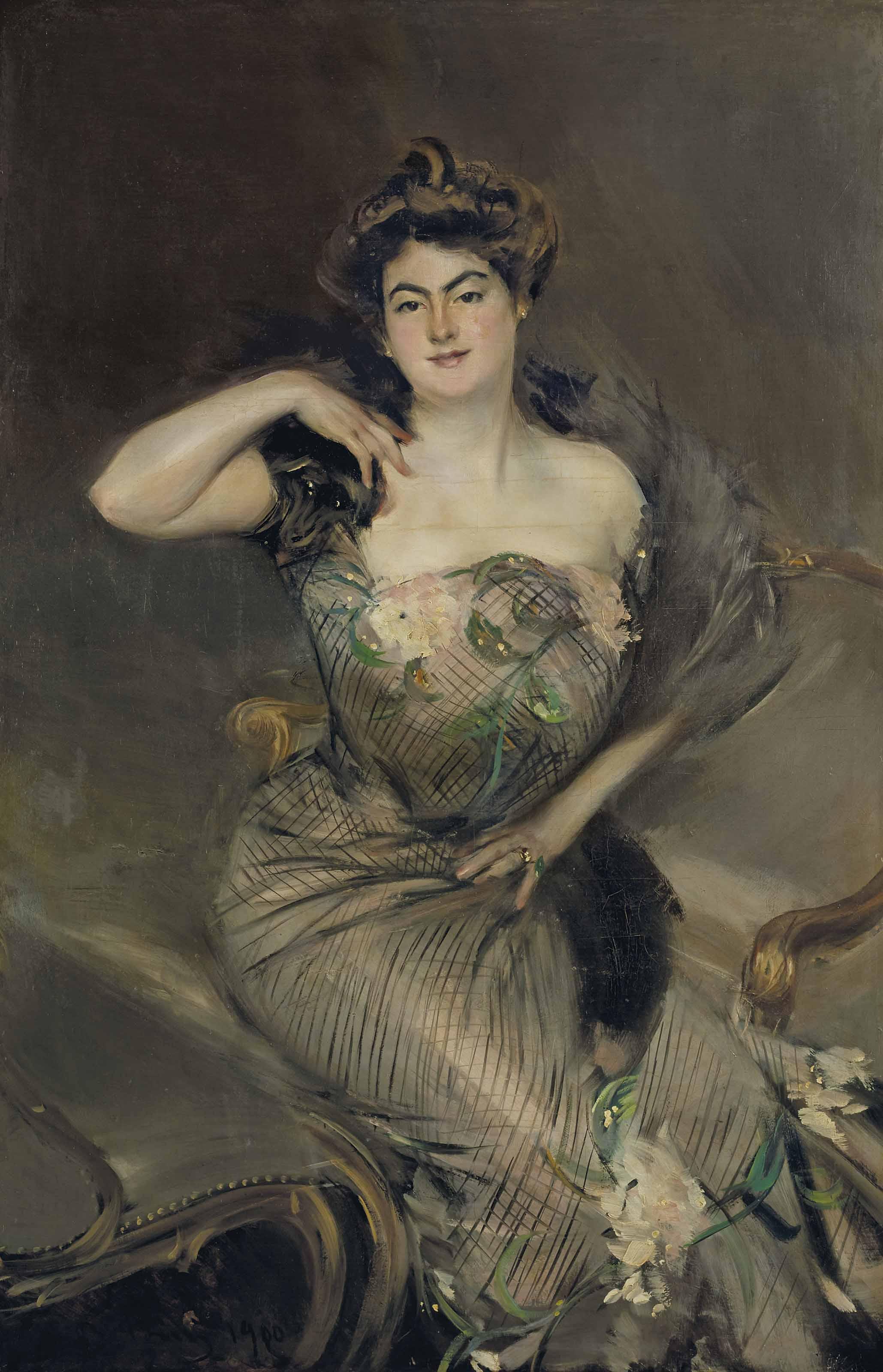 Portrait of Madame Arnold Seligmann