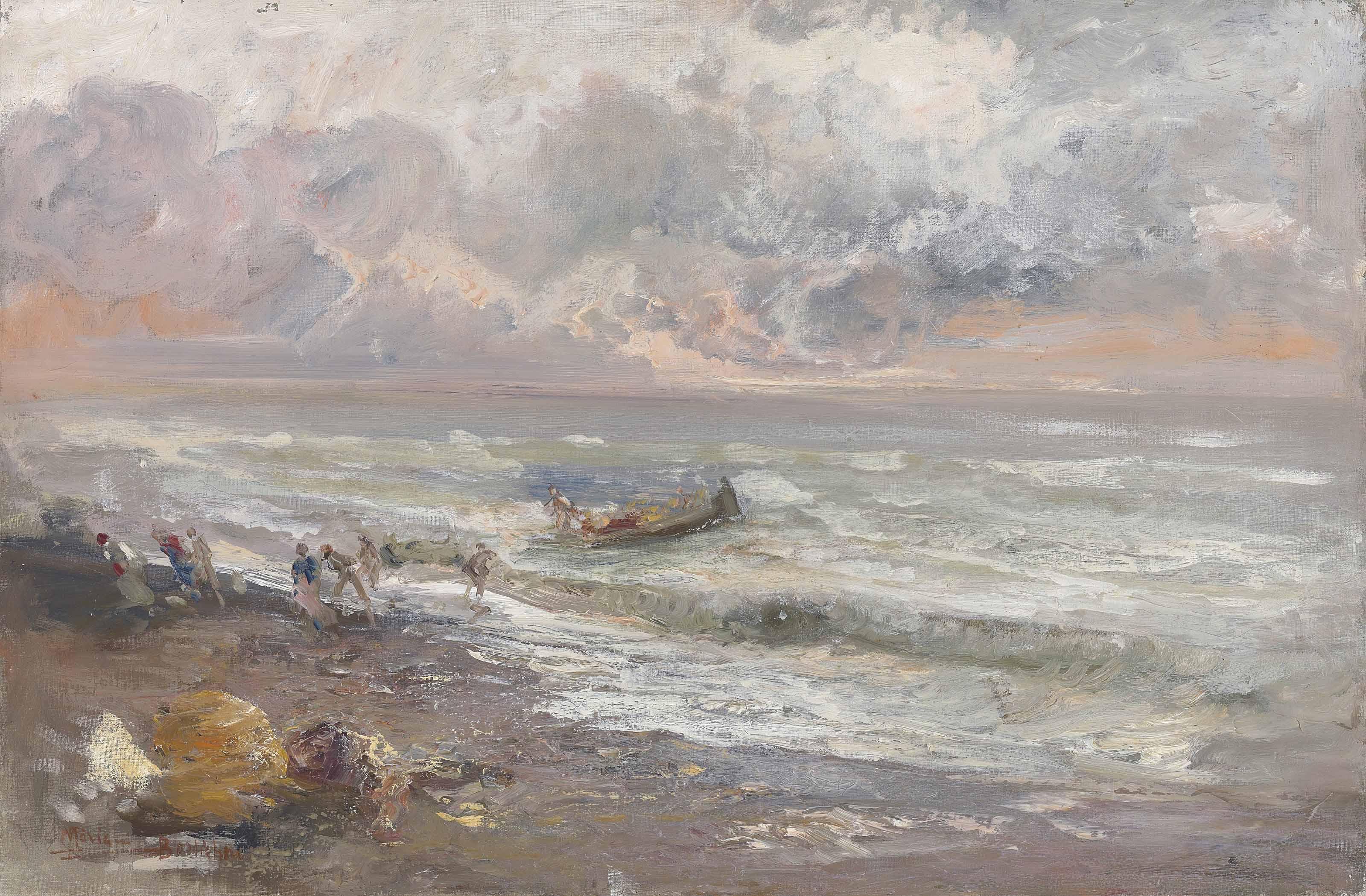 Ritorno dalla Pesca, Bordighera