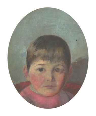 Louis Abrahams (1852-1903), Julie Abrahams, the Artist's Daughter. 11¾ x 9½ in (29.8 x 24.2 cm). Estimate £1,000-1,500. This lot is offered in Australian Art  on 14 December 2017  at Christie's in London
