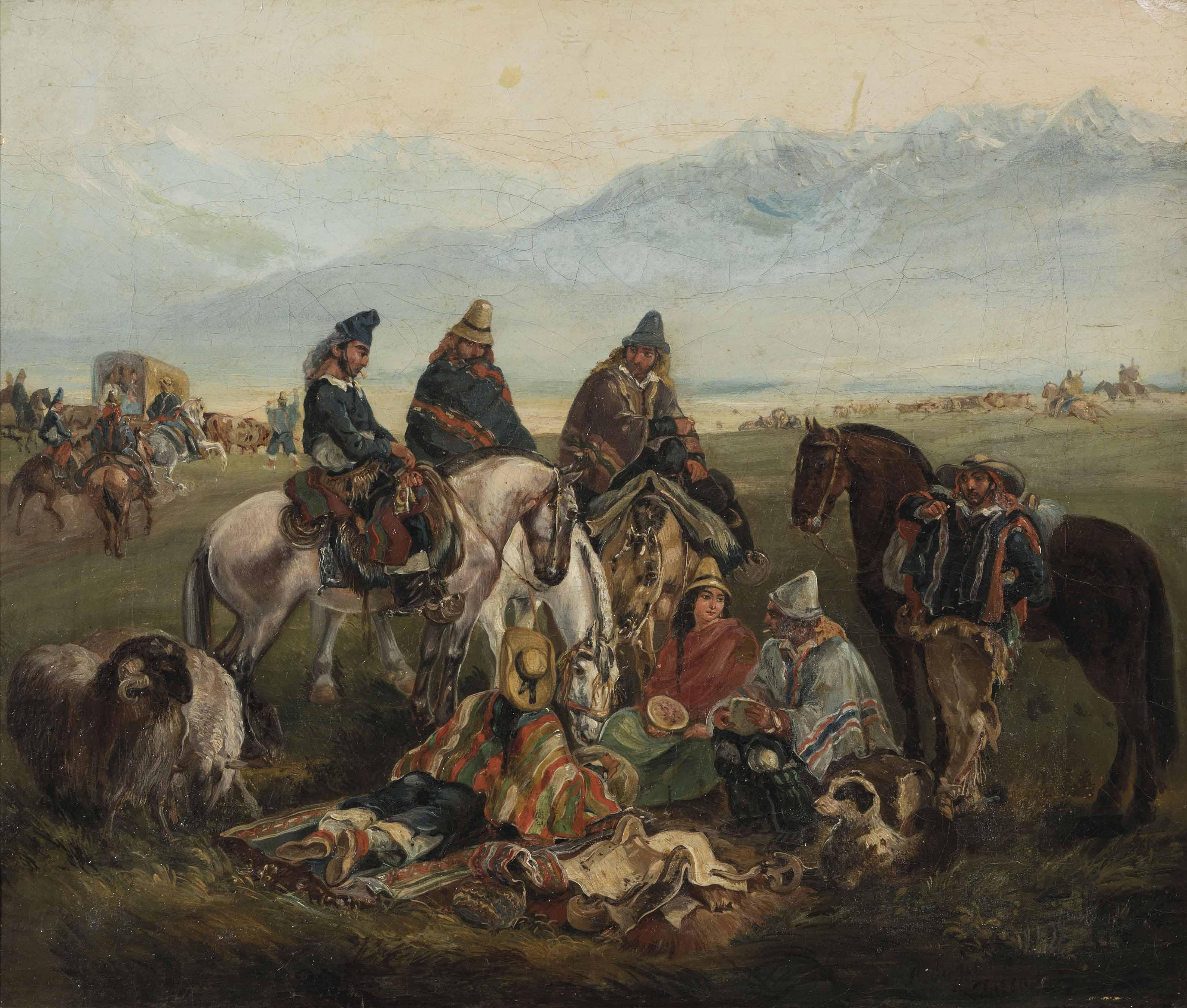 Huasos Maulinos (Chilean horsemen)