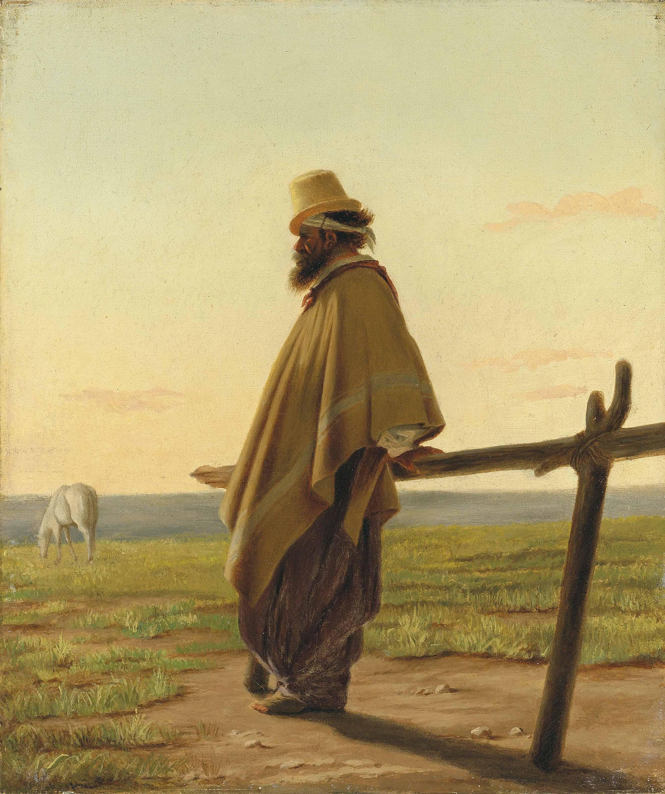 A Gaucho, at dawn