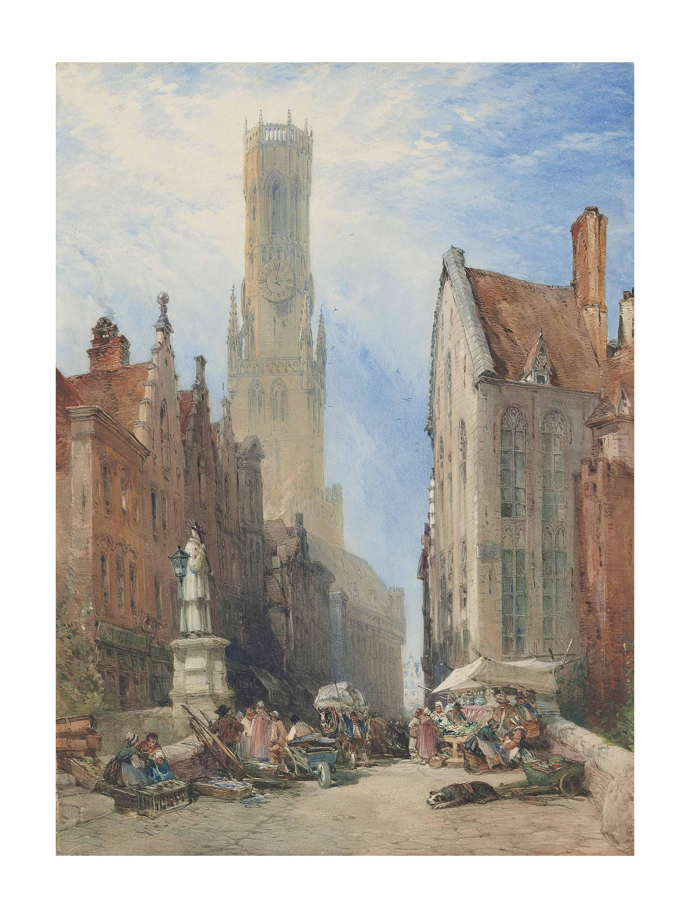 The Belfry at Bruges, Belgium