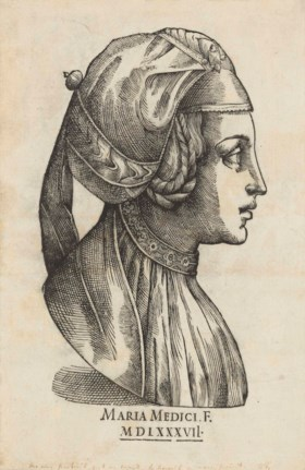 ATTRIBUTED TO MARIE DE MÉDICIS, QUEEN AND REGENT OF FRANCE (