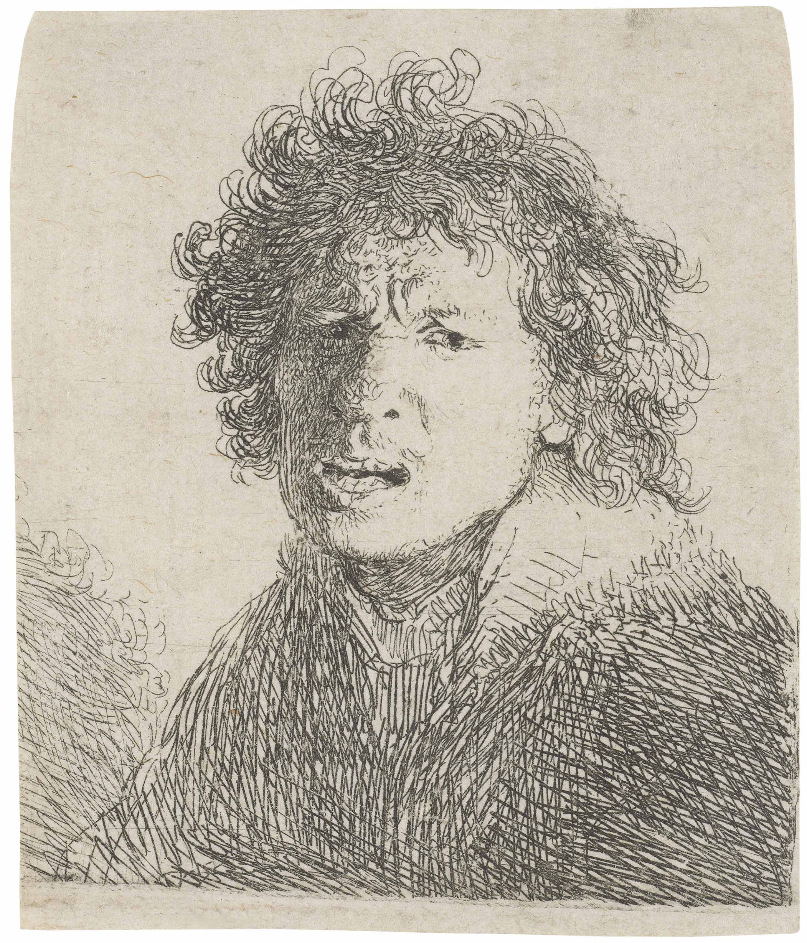Before the mirror: Rembrandt 's self-portrait etchings ...