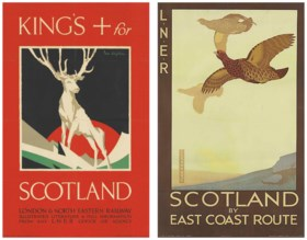 Two railway posters, early 20th Century