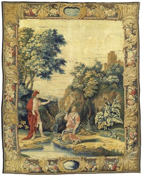 AN ENGLISH MYTHOLOGICAL TAPESTRY