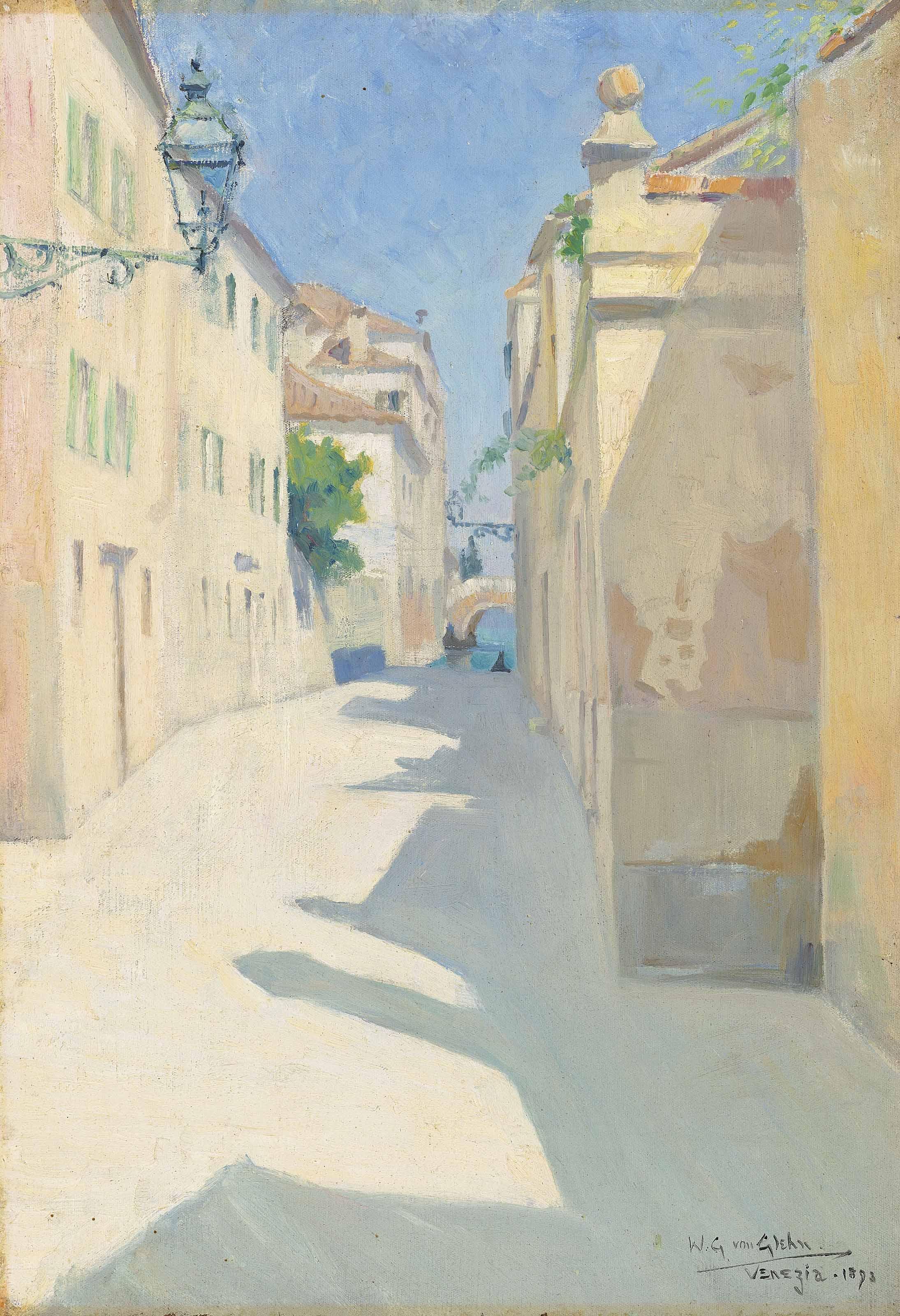 Une ruelle à Venise