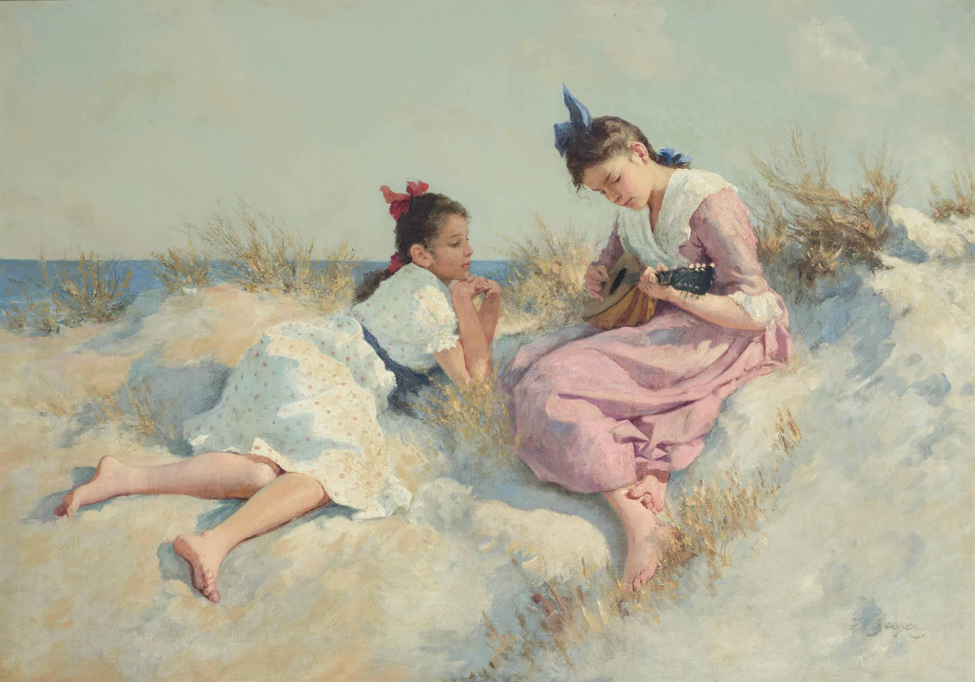 Music in the dunes