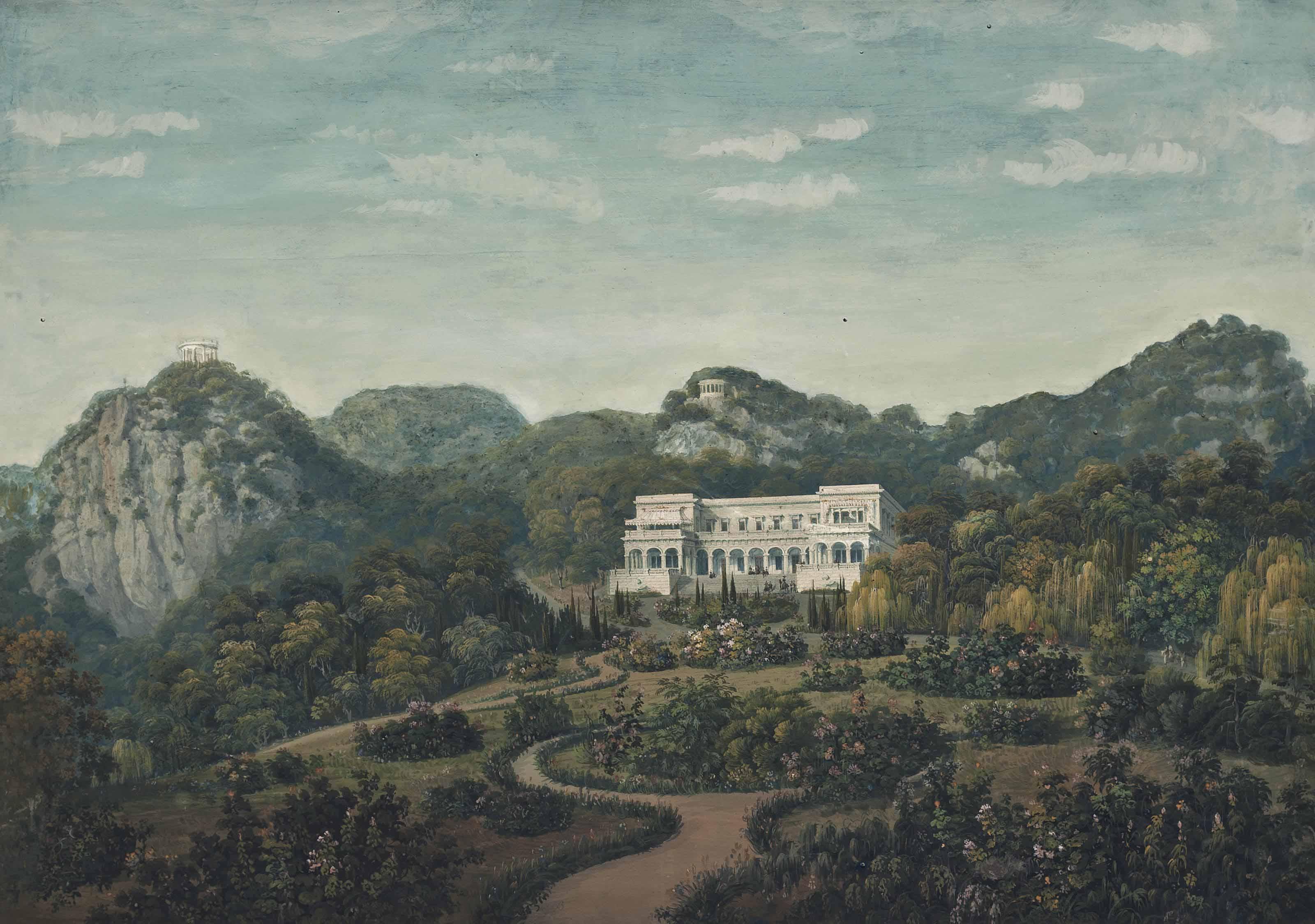An aristocratic estate