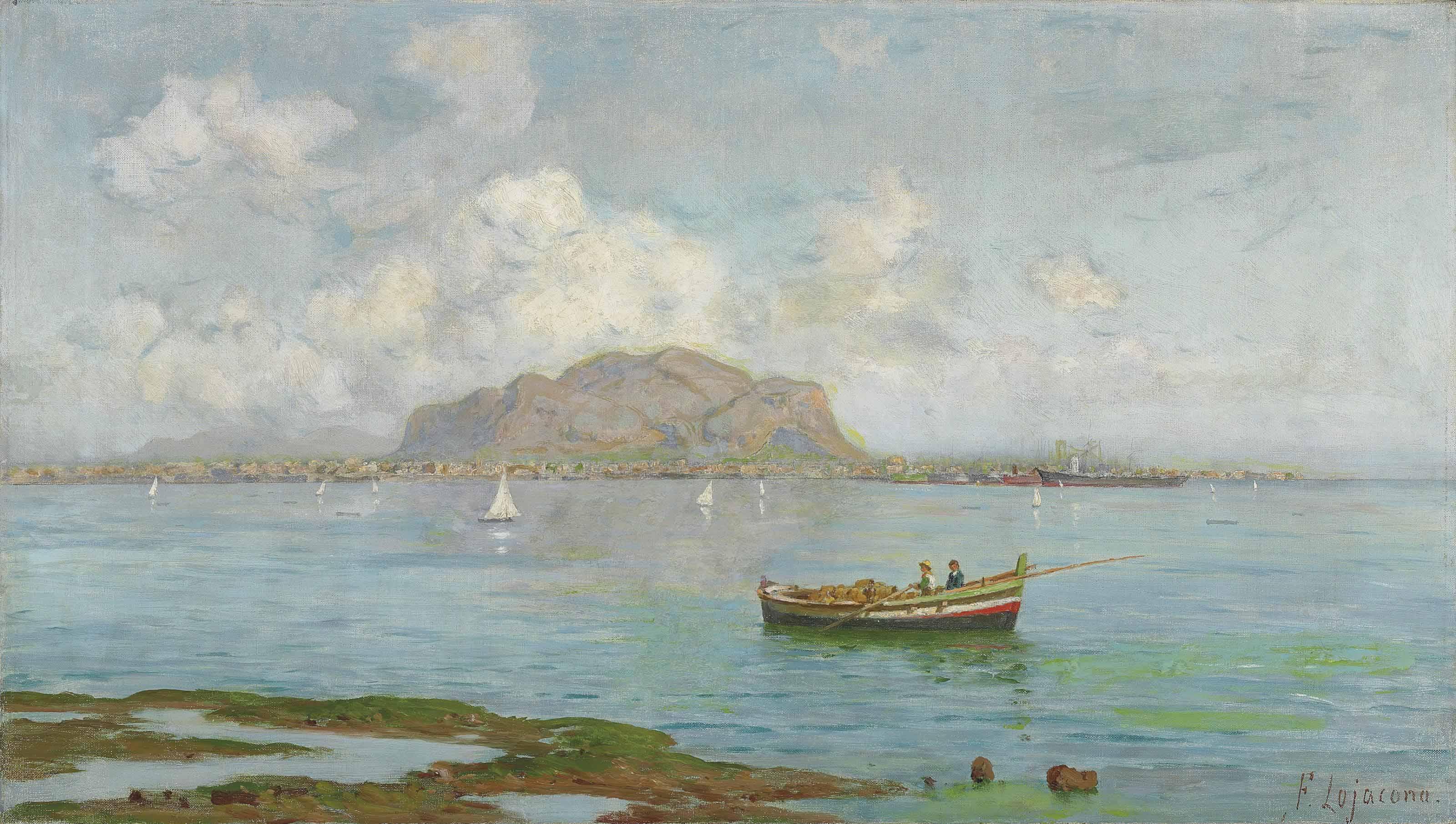 The Bay of Palermo, Monte Pellegrino beyond