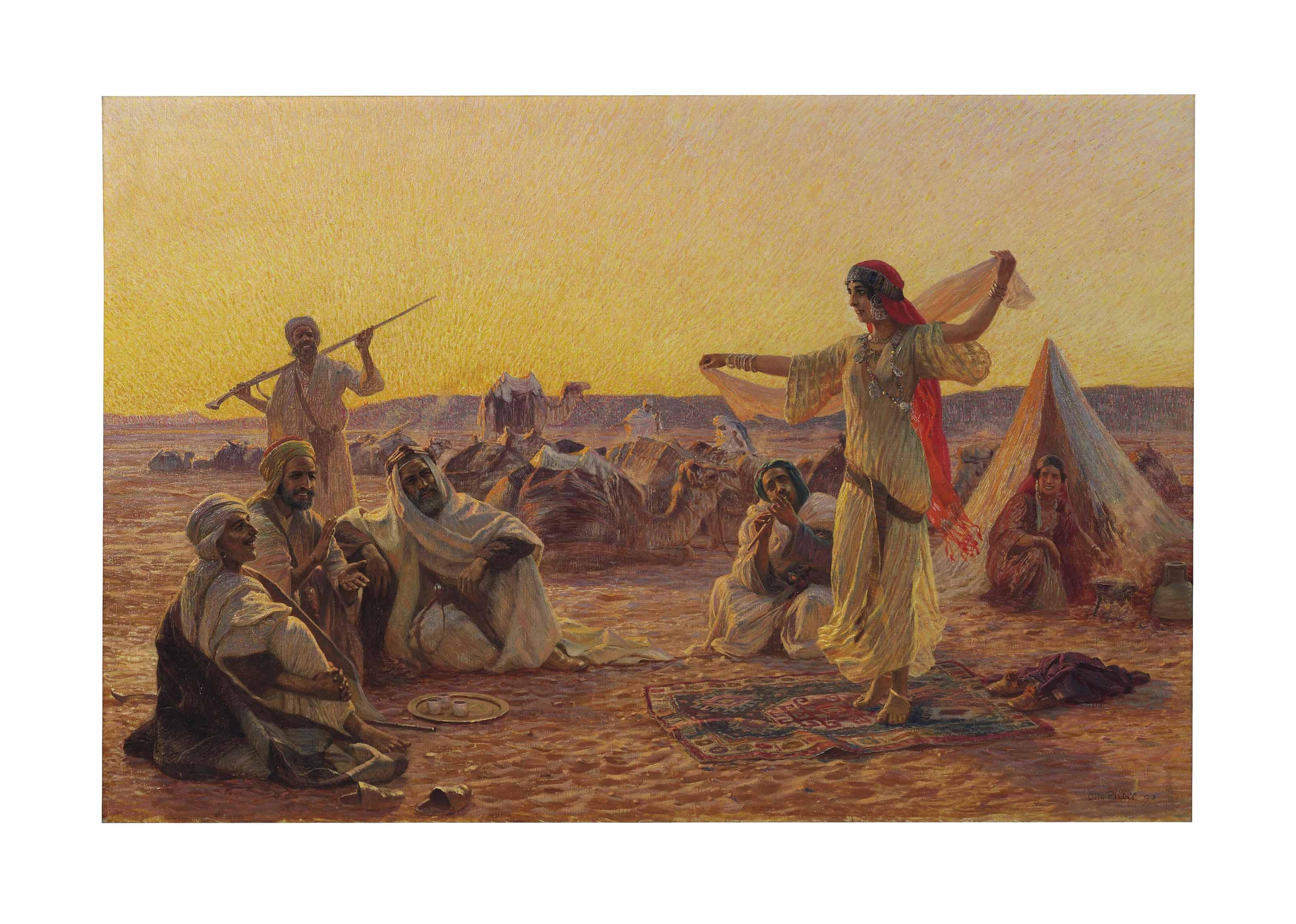 A dance in the desert