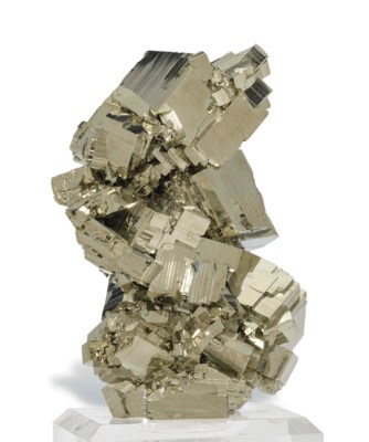 A FINE SPECIMEN OF PYRITE