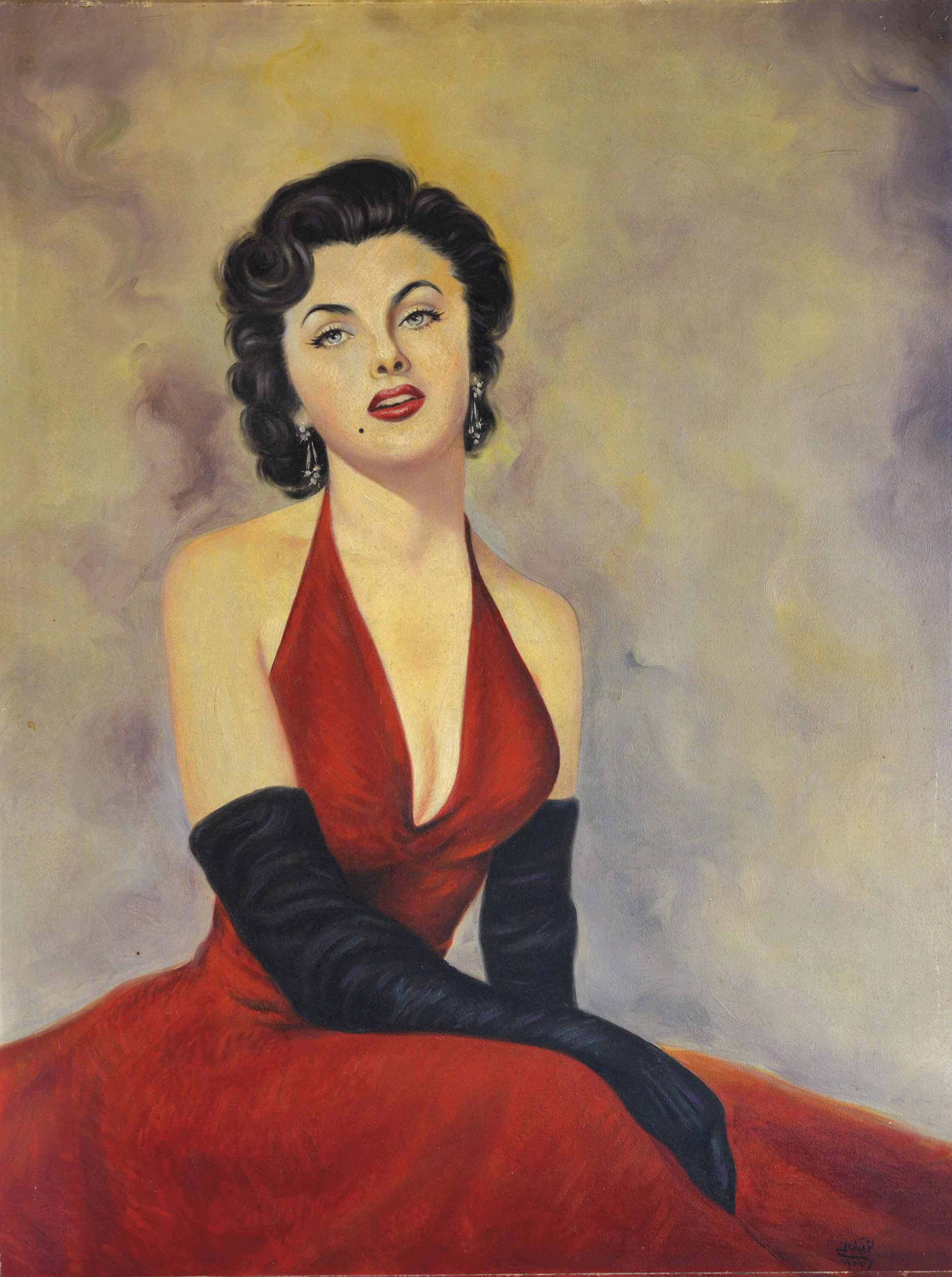 Untitled (Lady in the Red Dress)