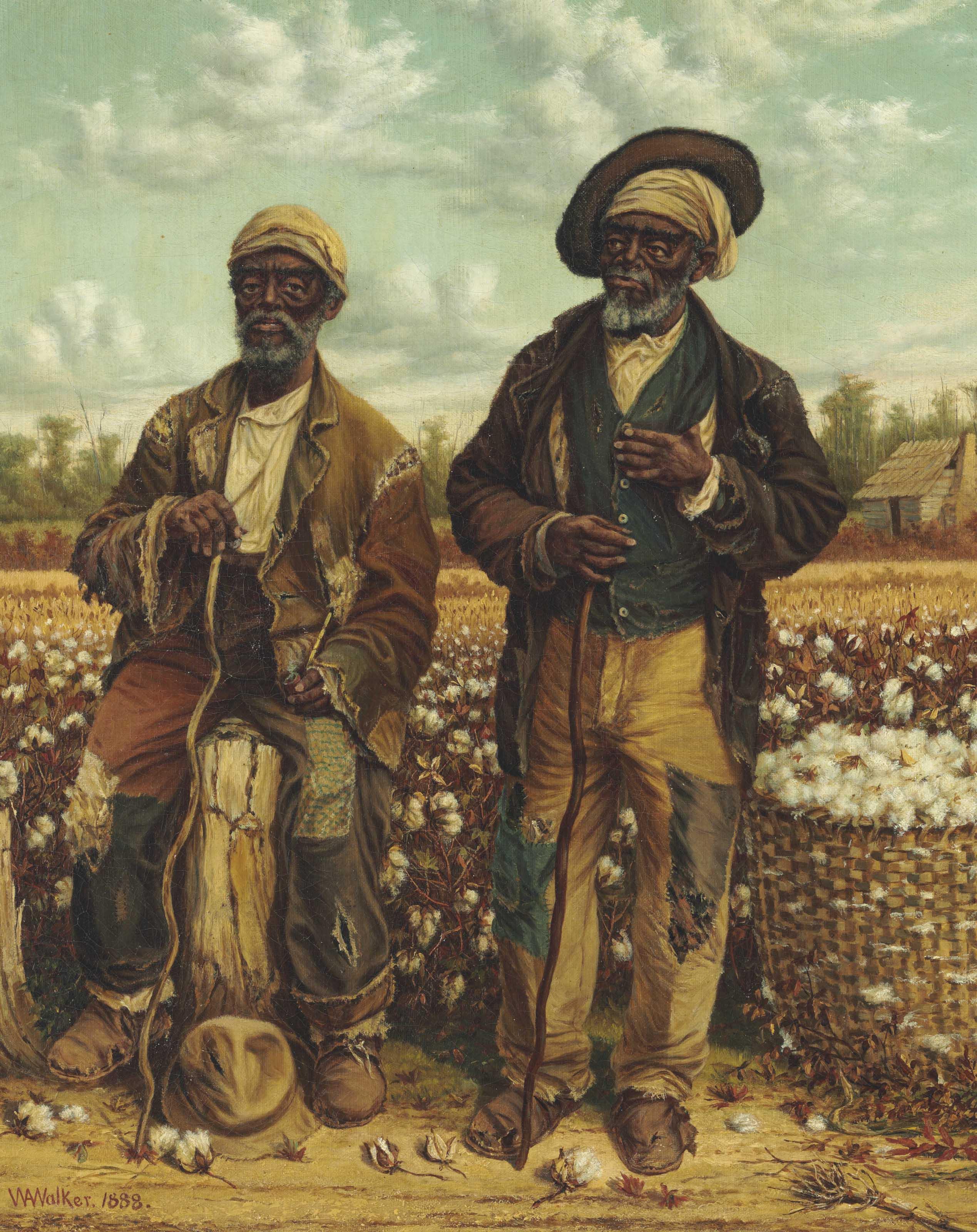 william aiken walker (1838 1921), calhoun's slaves