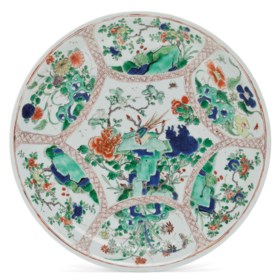 A LARGE FAMILLE VERTE DISH
