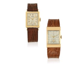 GROUP OF YELLOW GOLD WATCHES