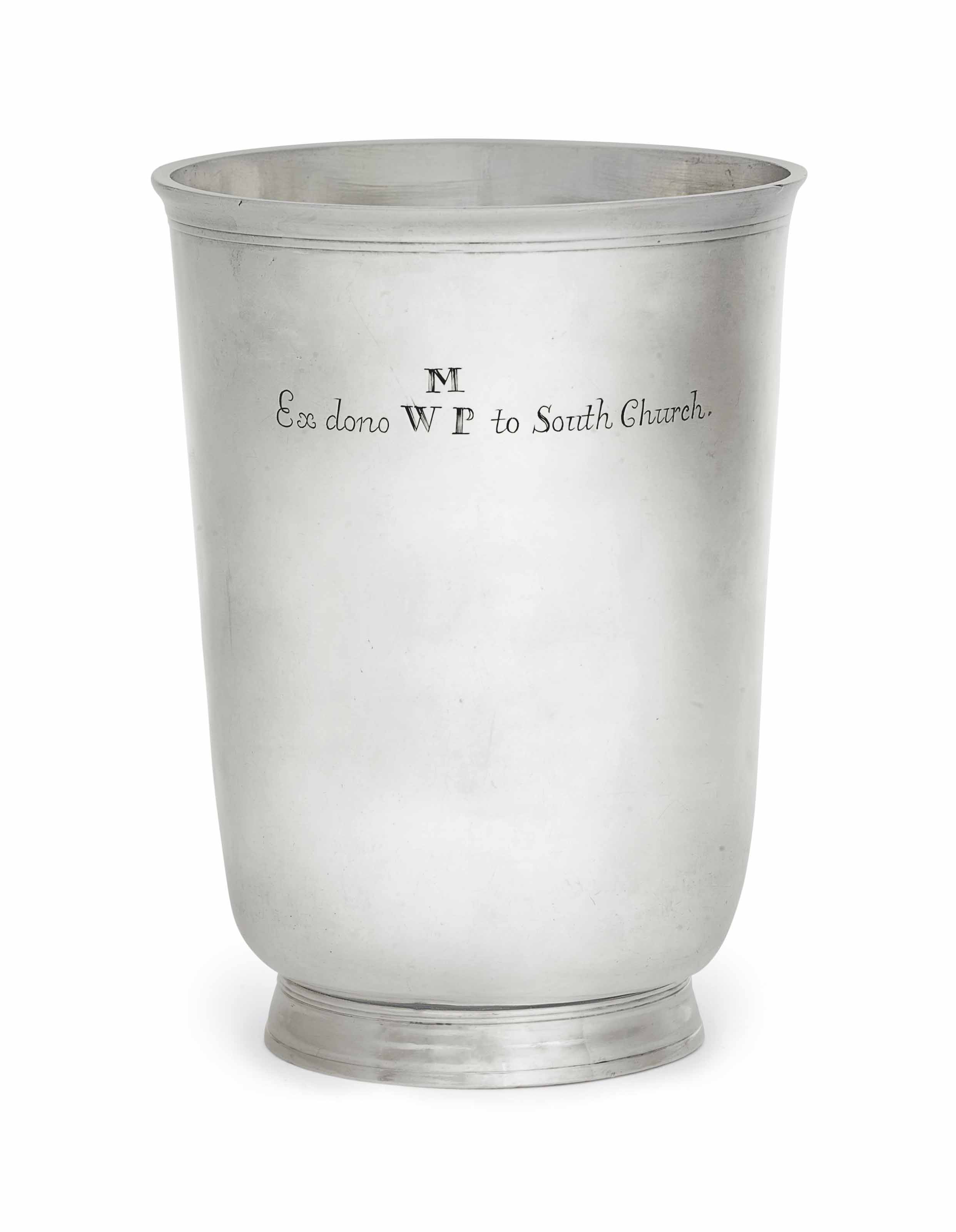 THE WILLIAM MANLEY SILVER BEAKER