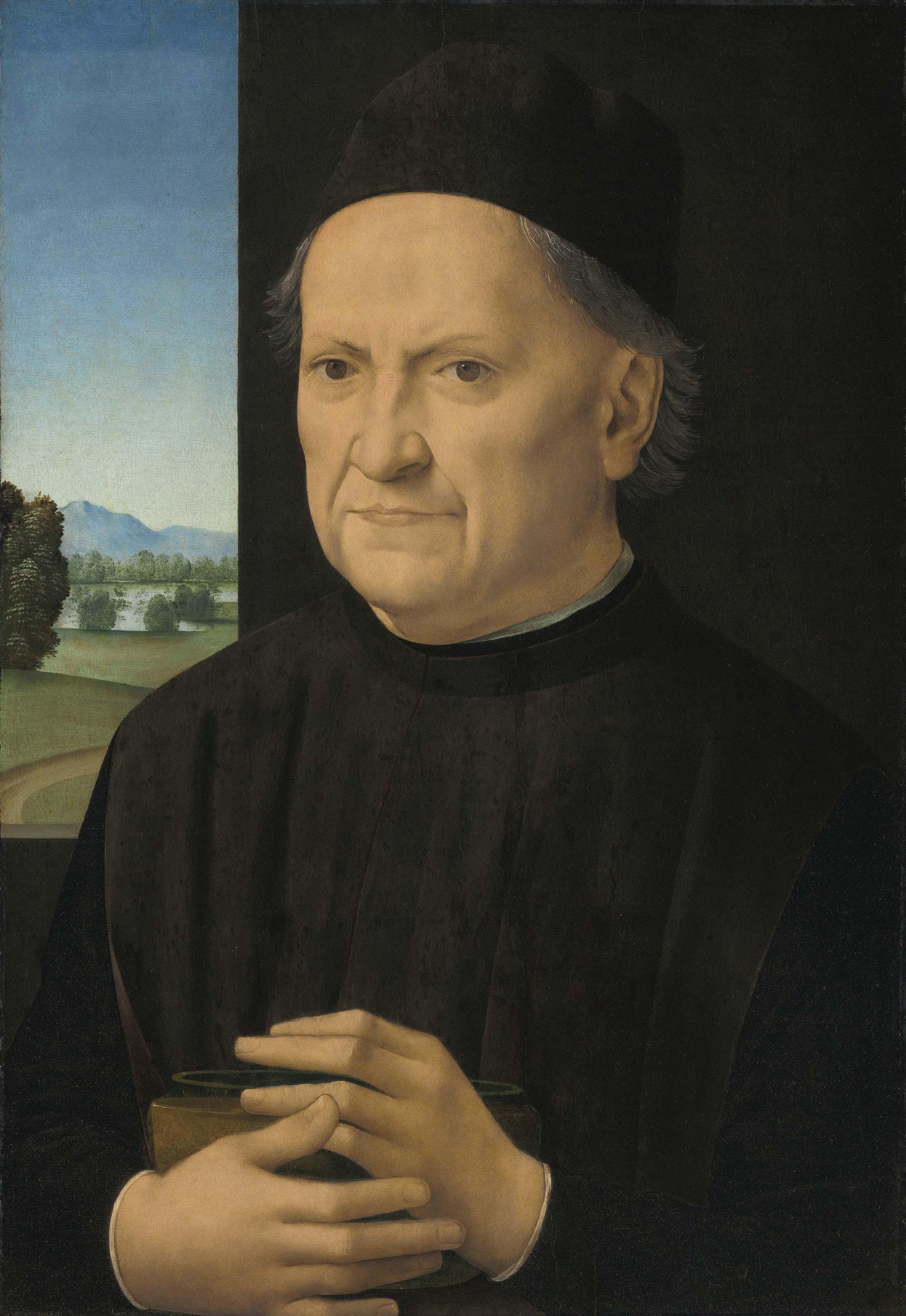 Portrait of a gentleman, possibly Girolamo Benivieni (1453-1542), half-length