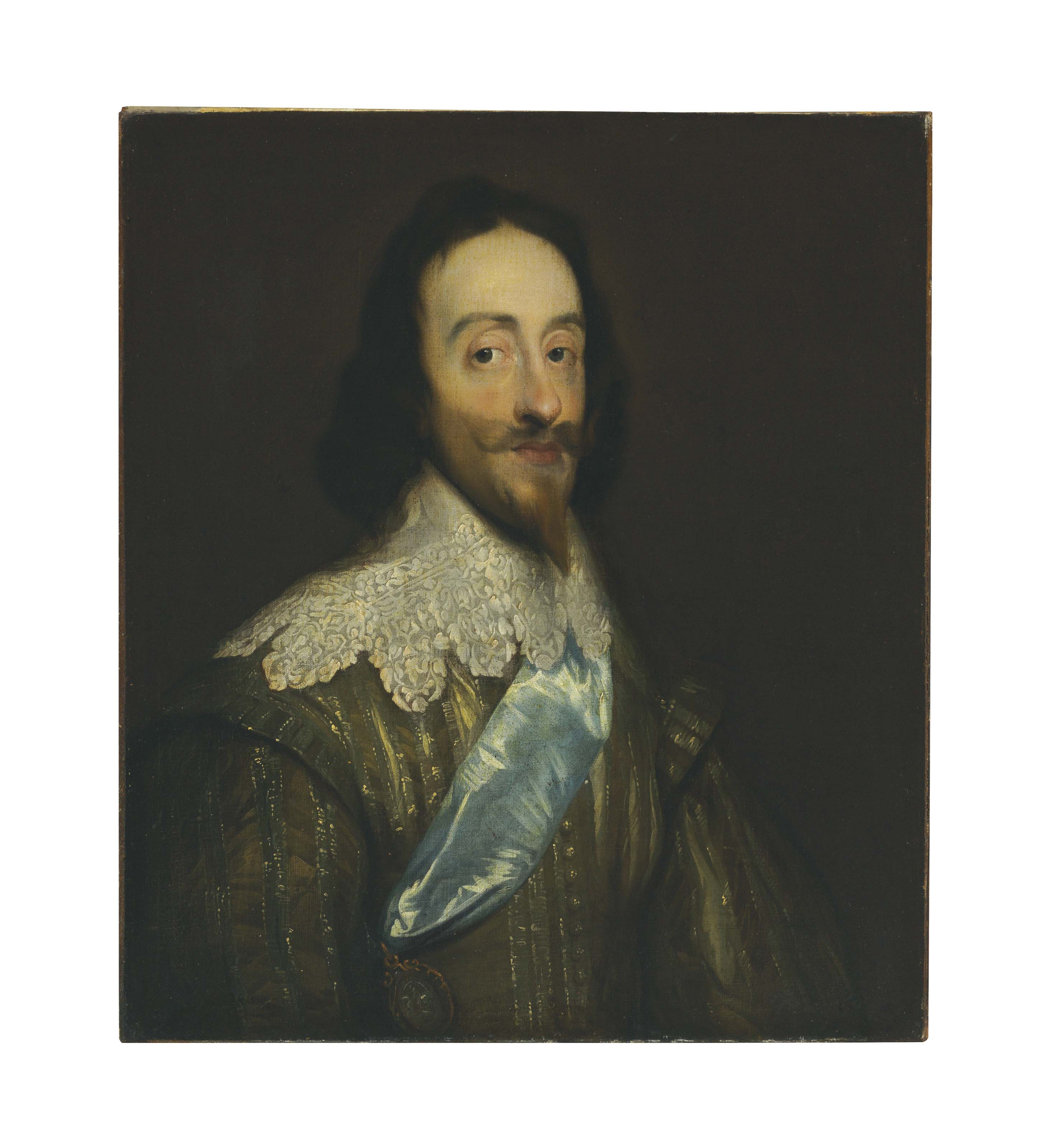 Portrait of King Charles I (1600-1649), bust-length