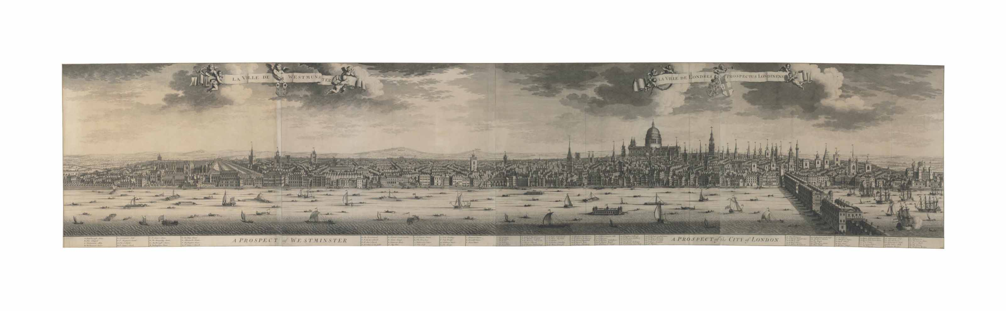 A Prospect of Westminster & A Prospect of the City of London