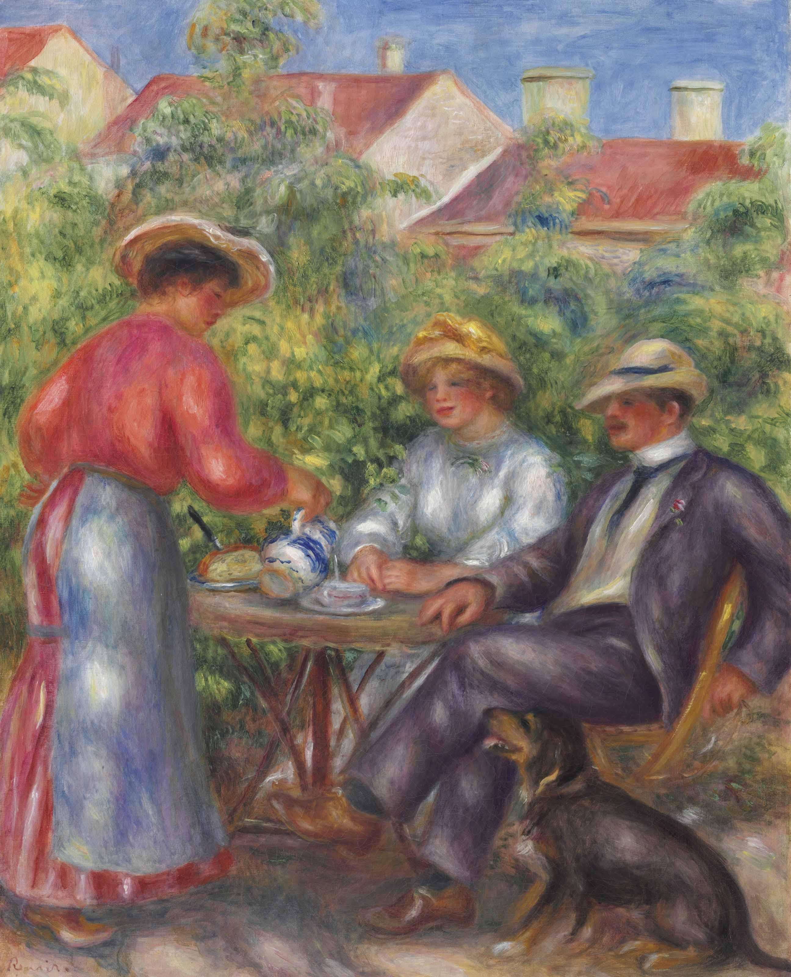 La tasse de thé ou Le jardin