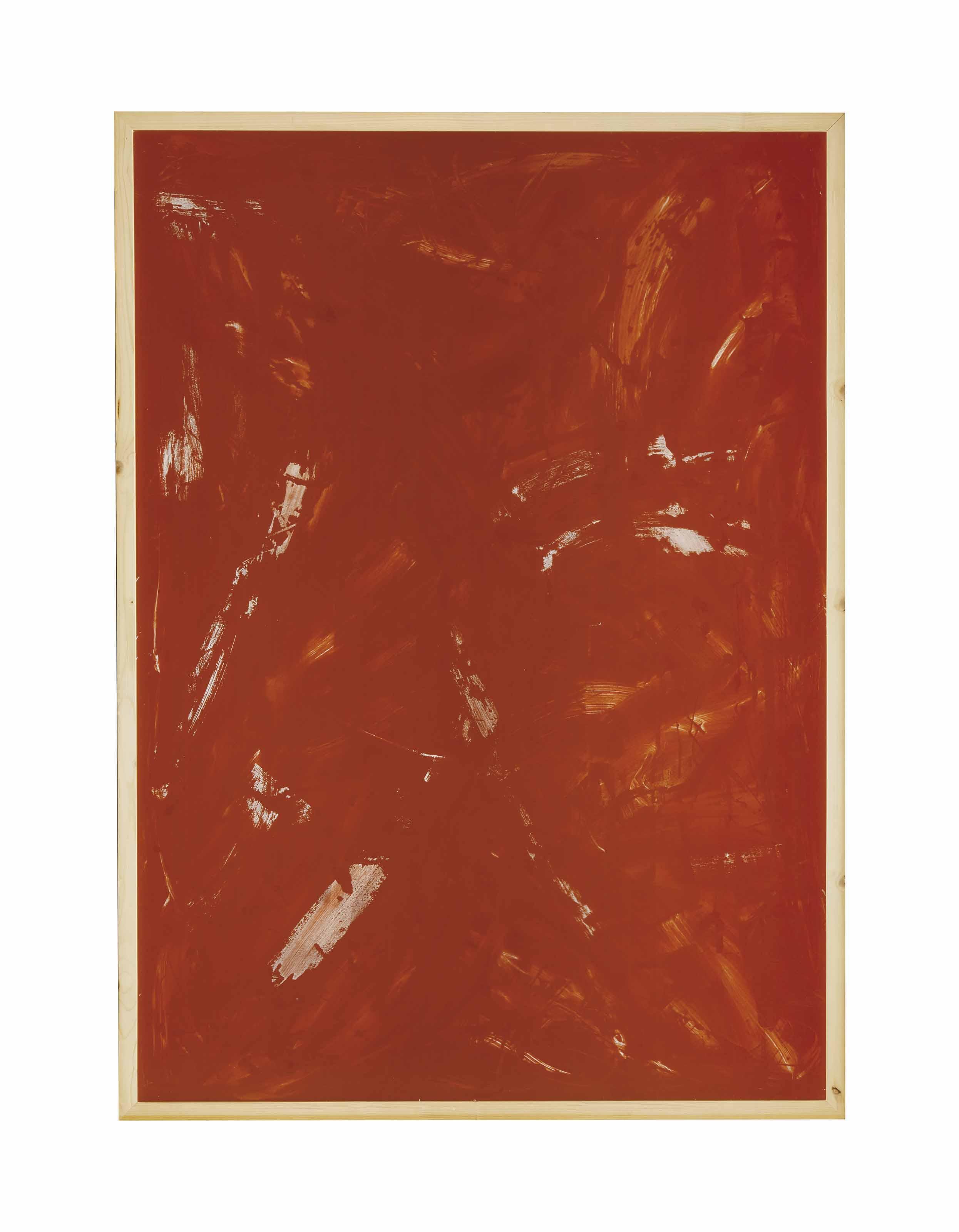 Rote Acryglaszeichnung Nr.13