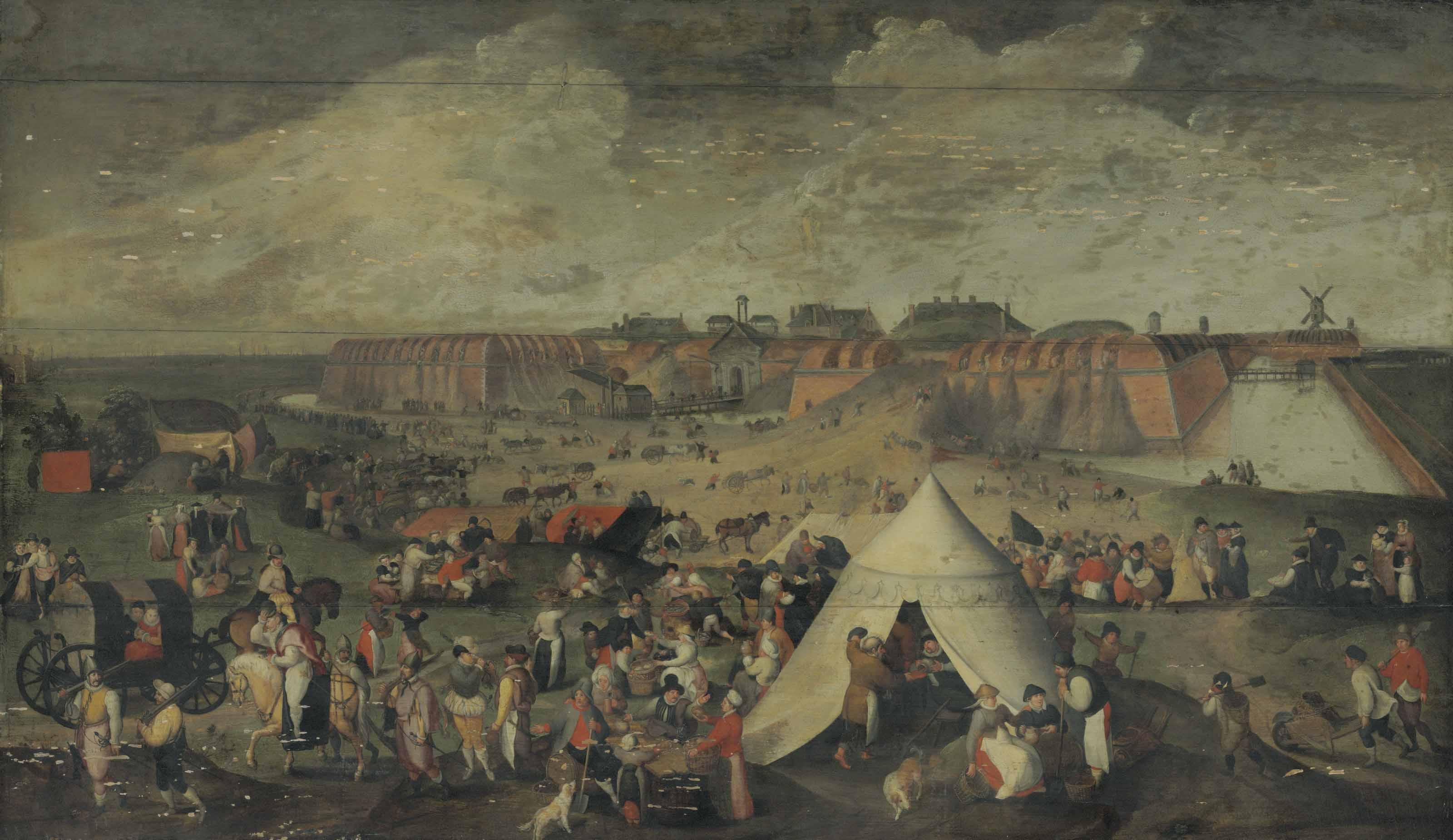 The Demolition of the Citadel of Antwerp