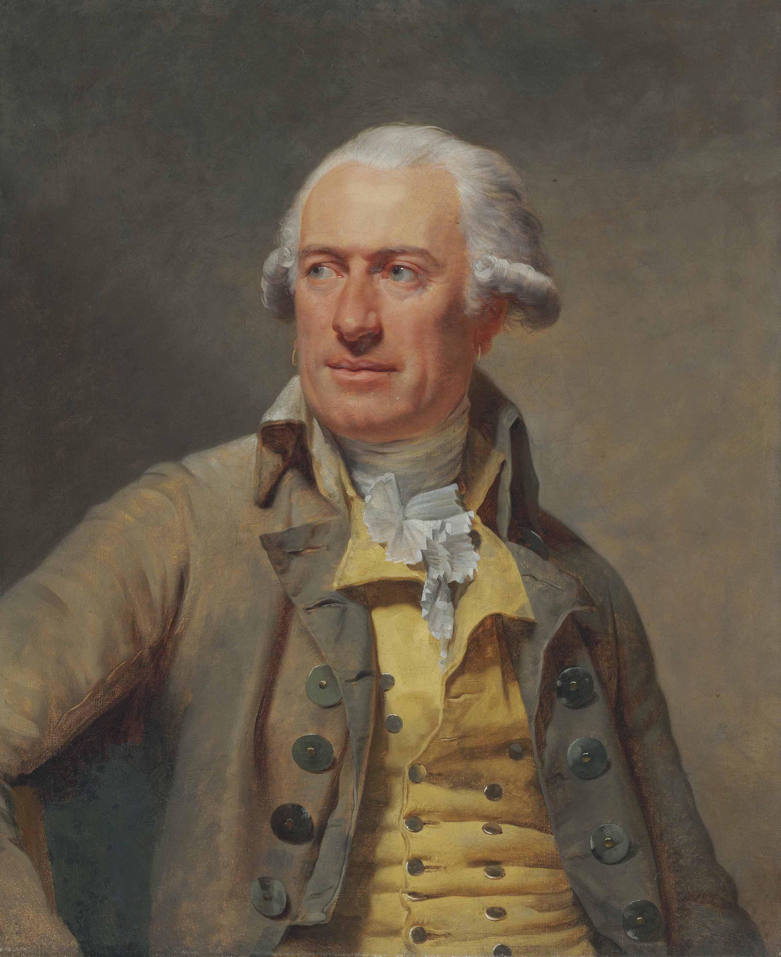 Portrait of the Architect Louis-François Petit Radel (1740-1818), half-length