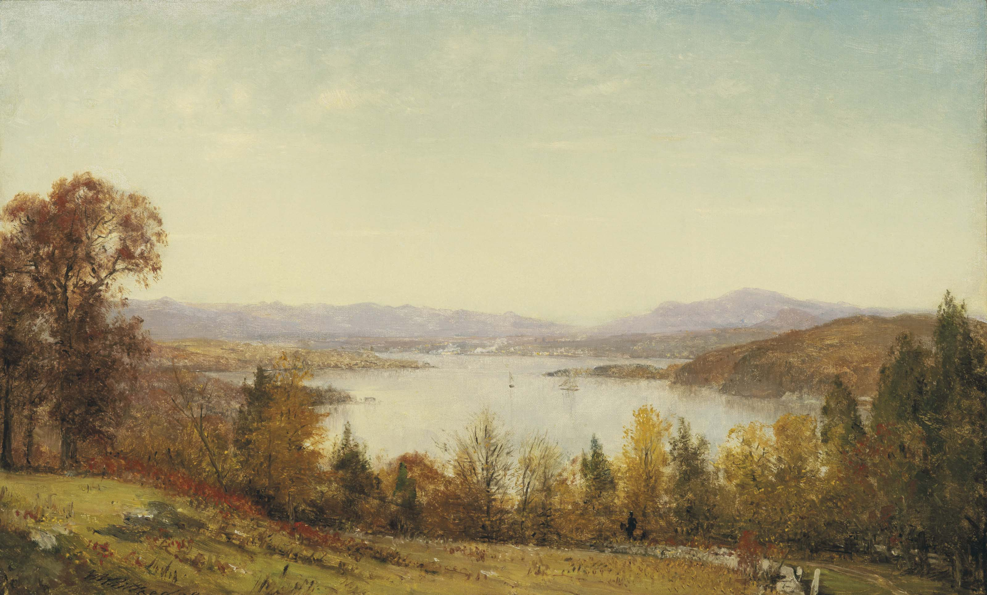 October on the Hudson