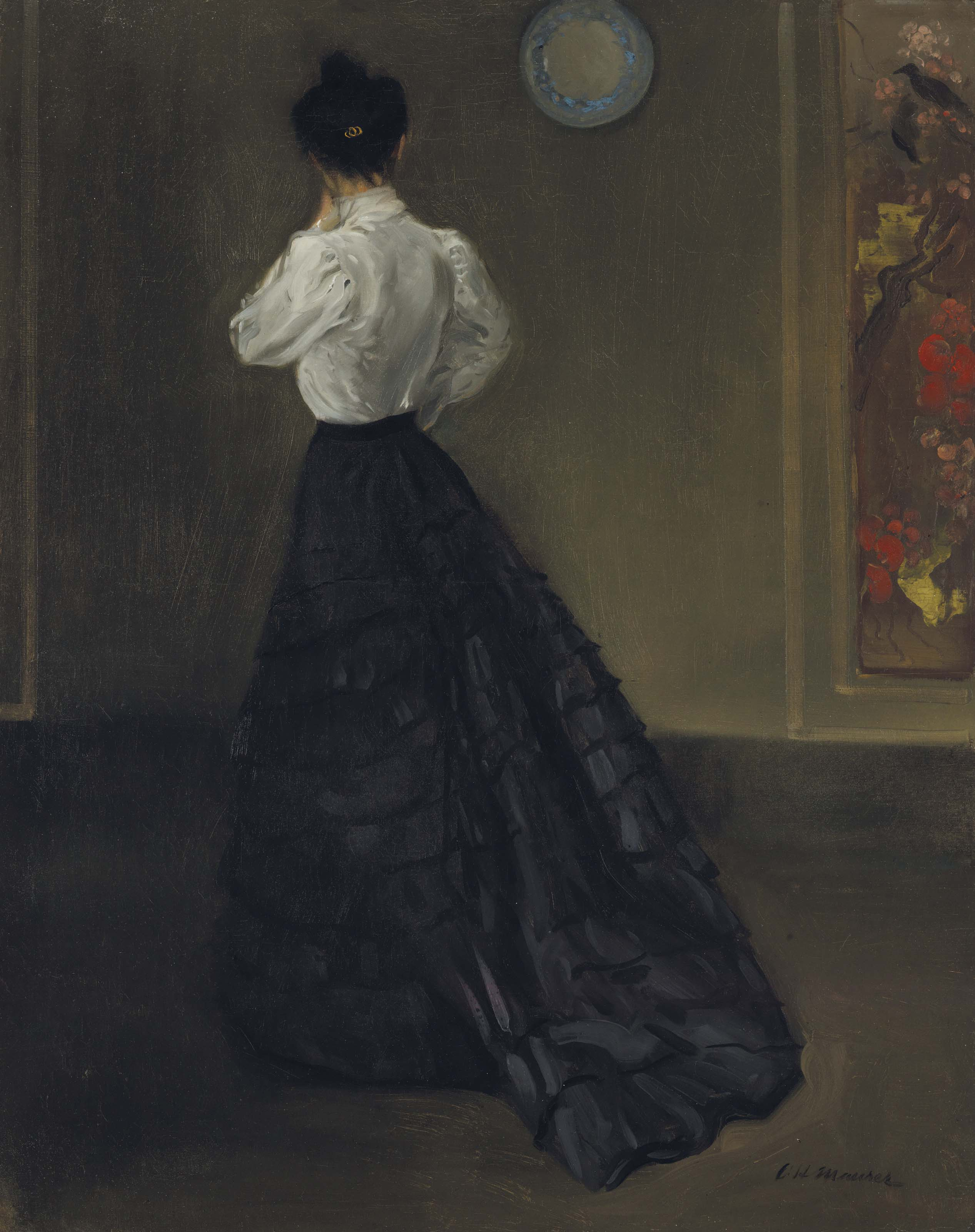 An Arrangement (Woman in White Blouse)