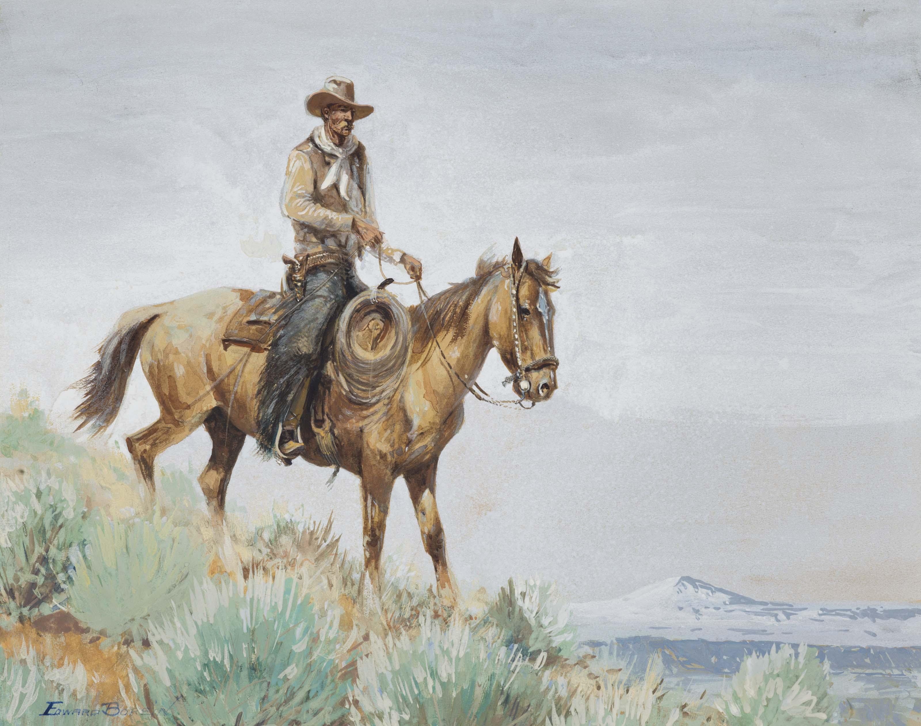 Mounted Cowboy