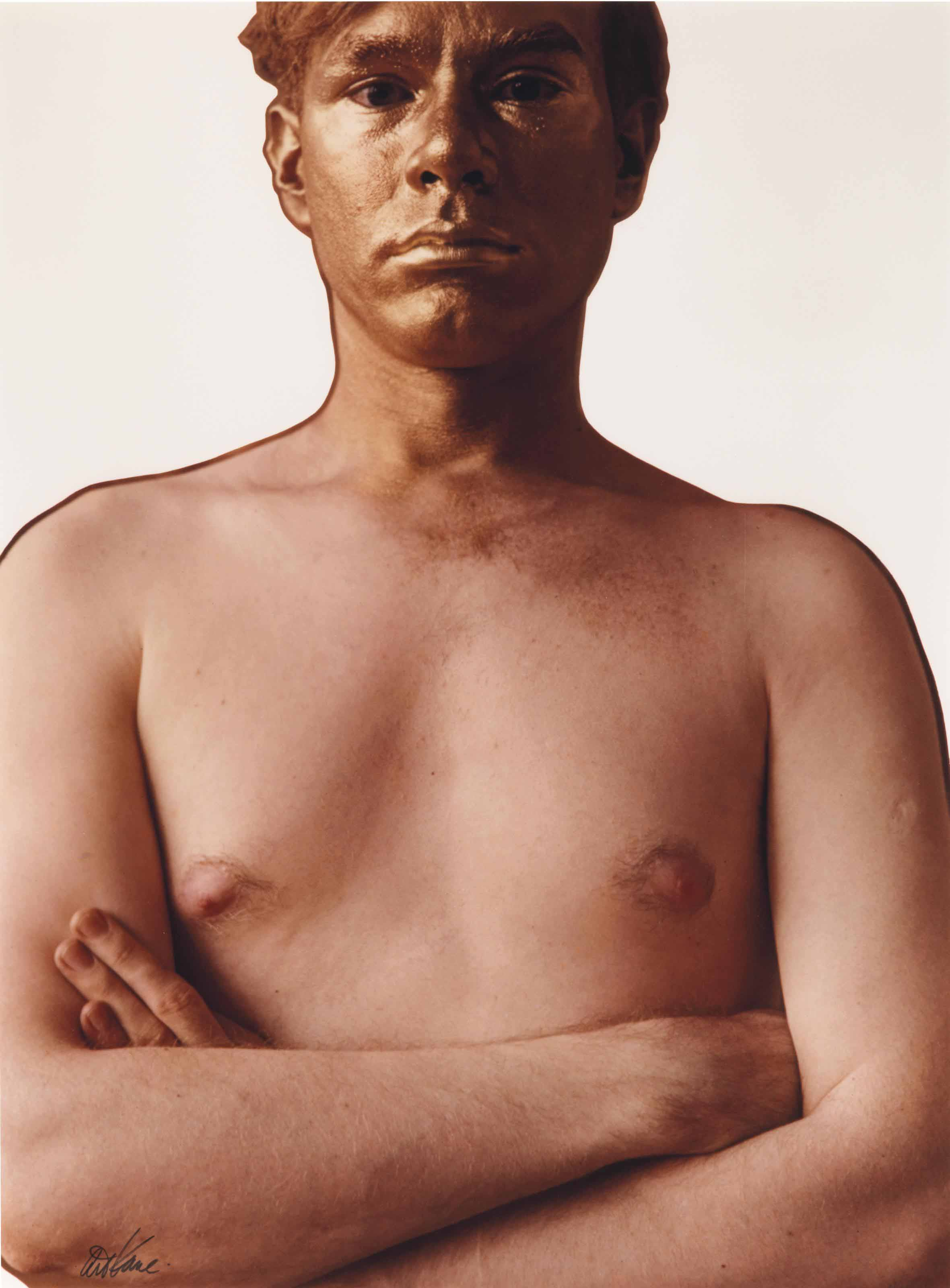 Andy Warhol as the Golden Boy, 1962