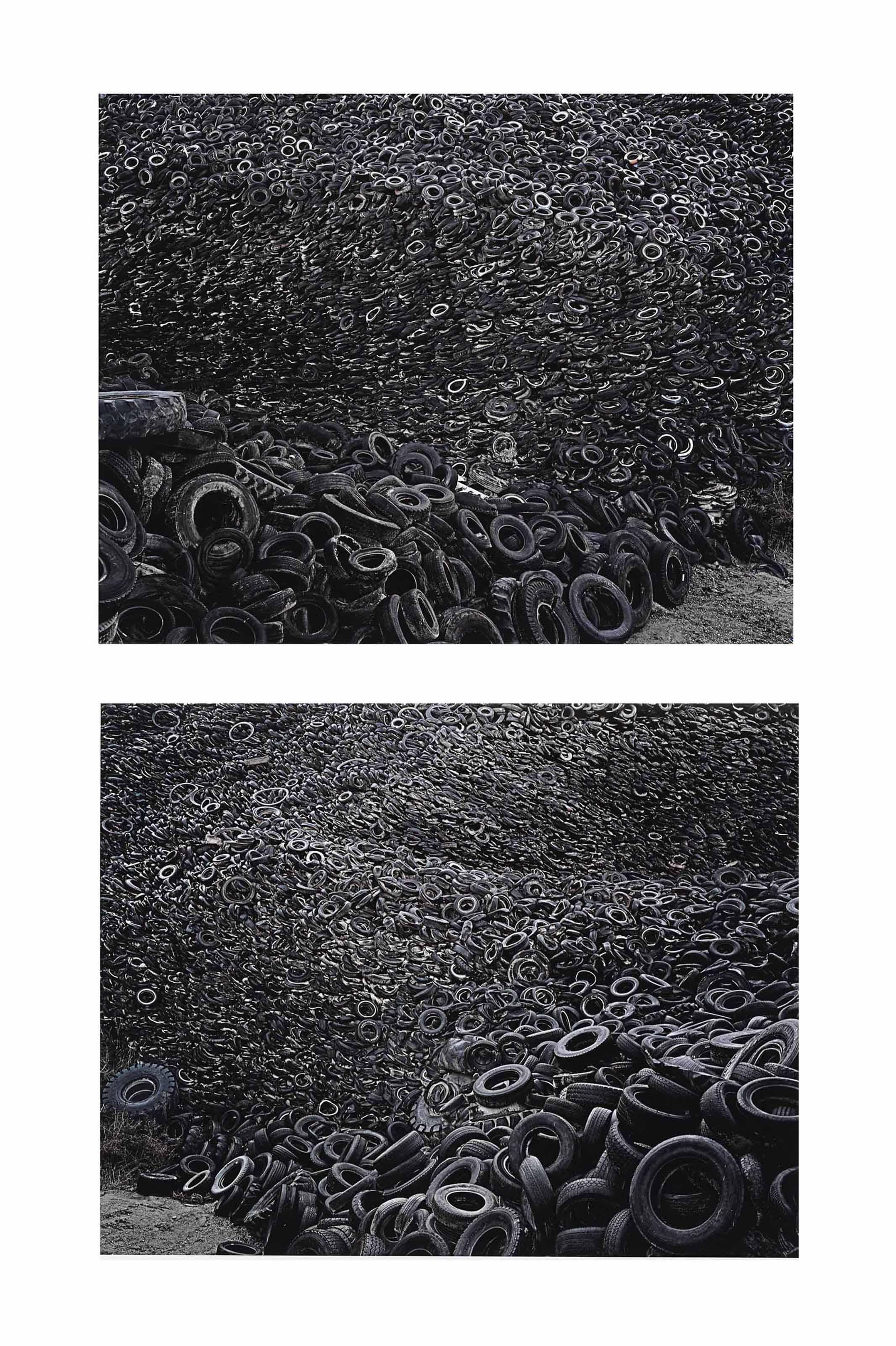 Oxford Tire Pile #9a & #9b, Westley, California, 1999