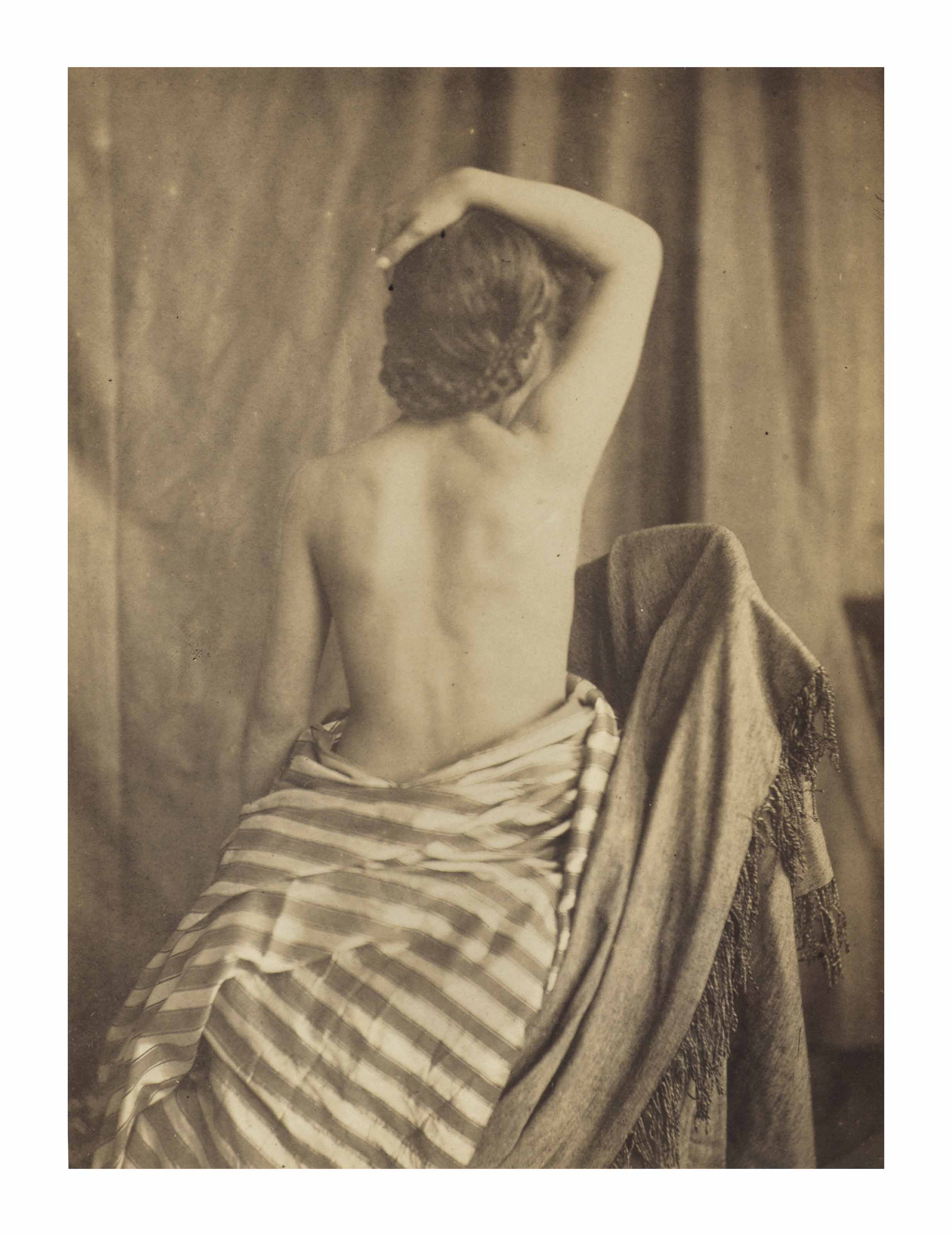 Model Posed by Delacroix, 1853–1854