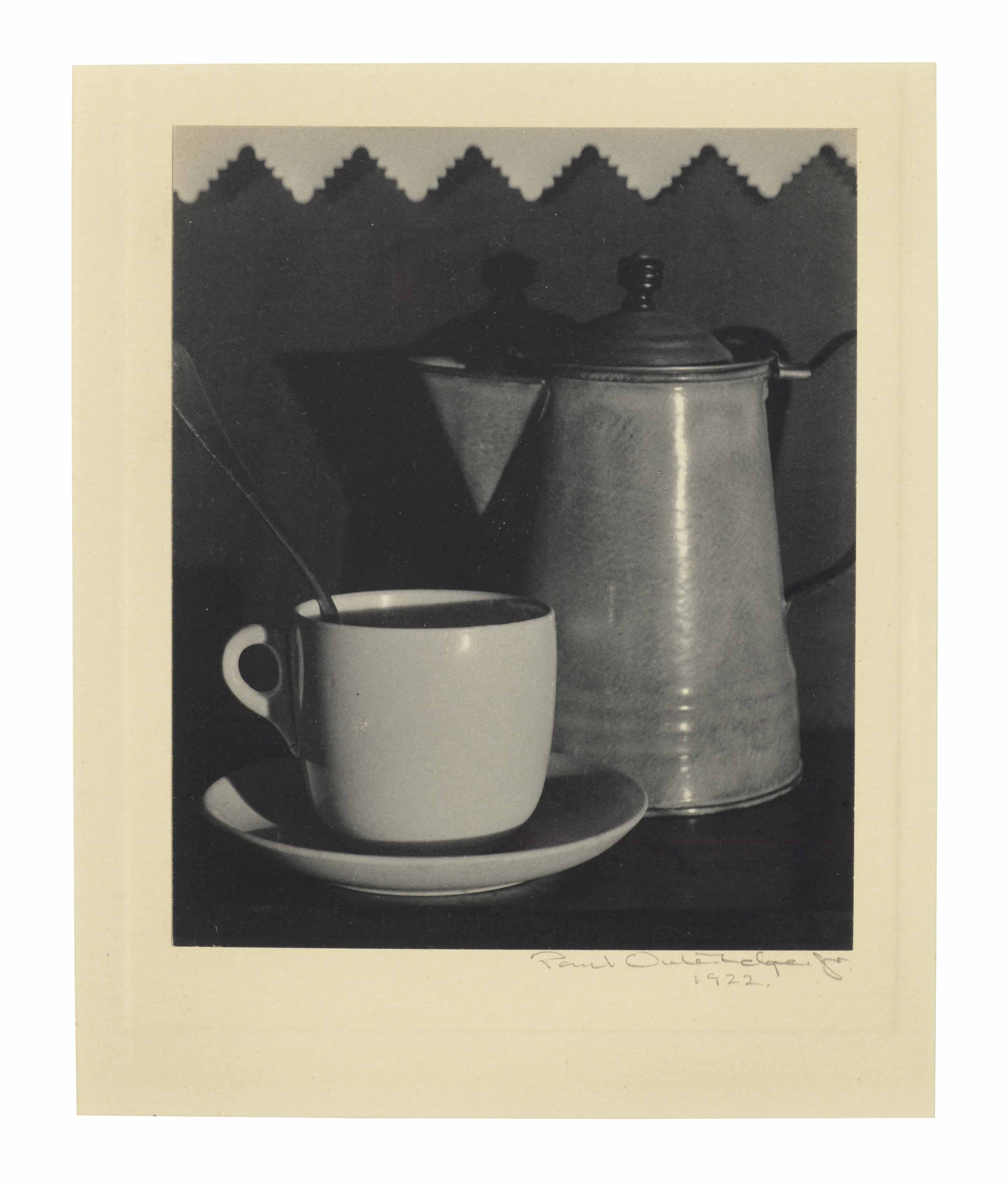 Coffee Pot and Cup, 1922