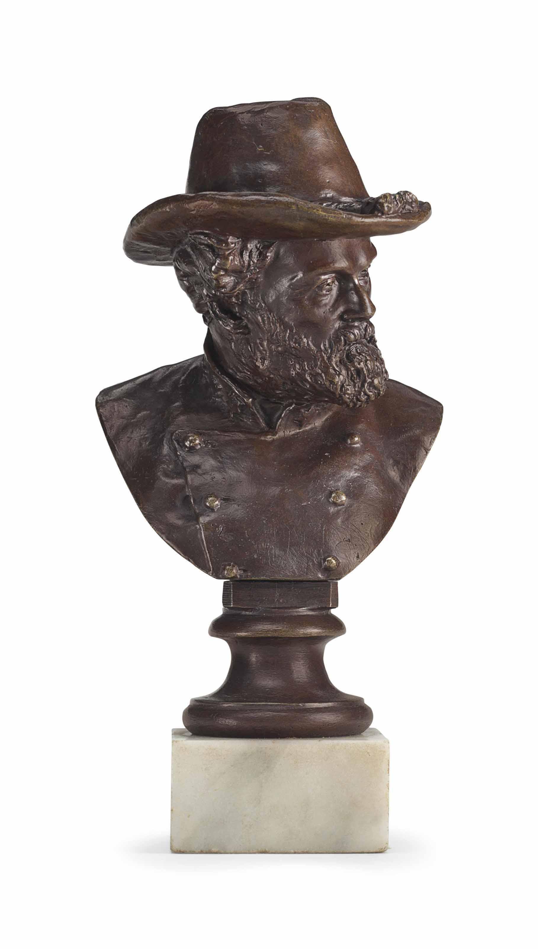 Portrait bust of Robert E. Lee