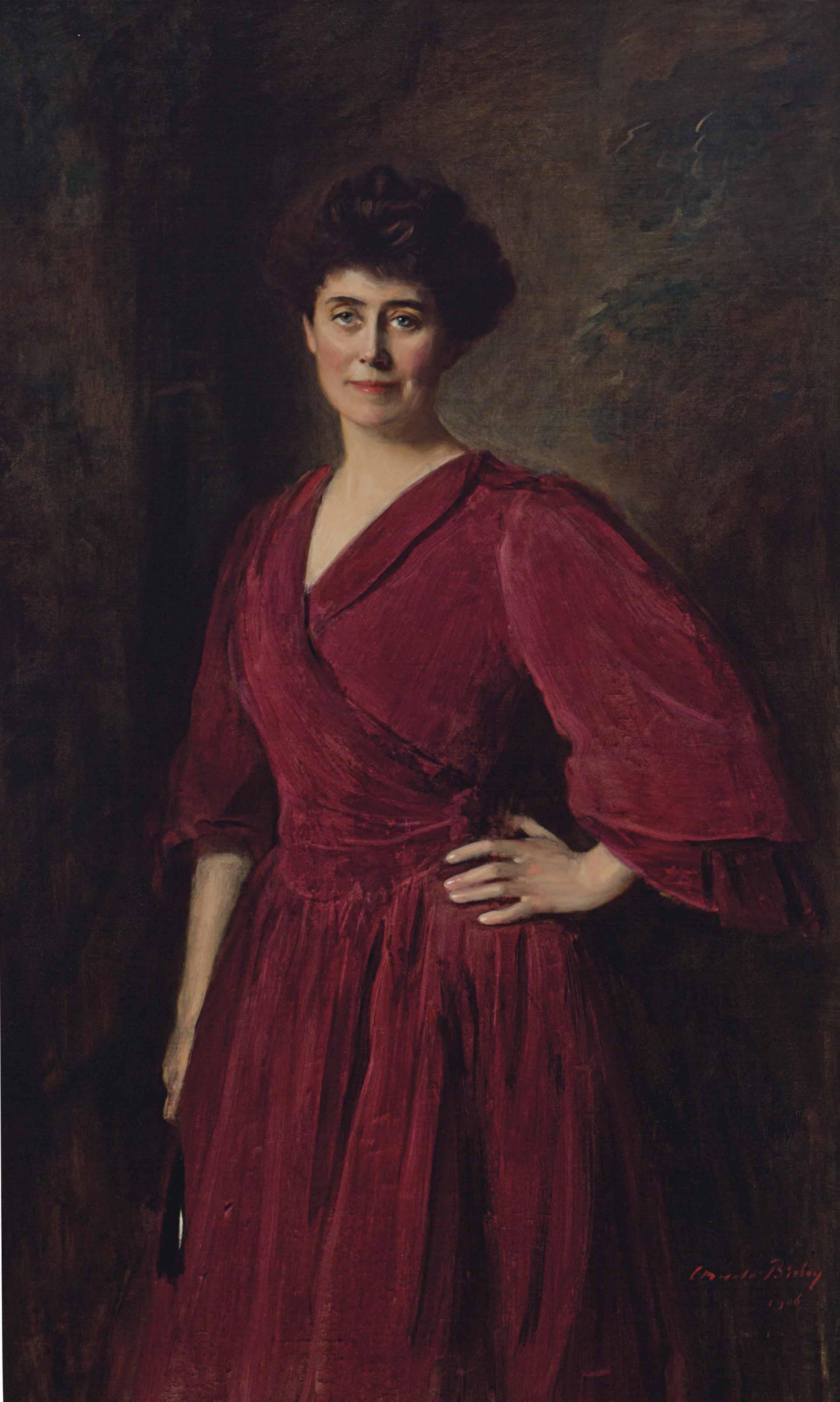 Portrait of Miss Cooper