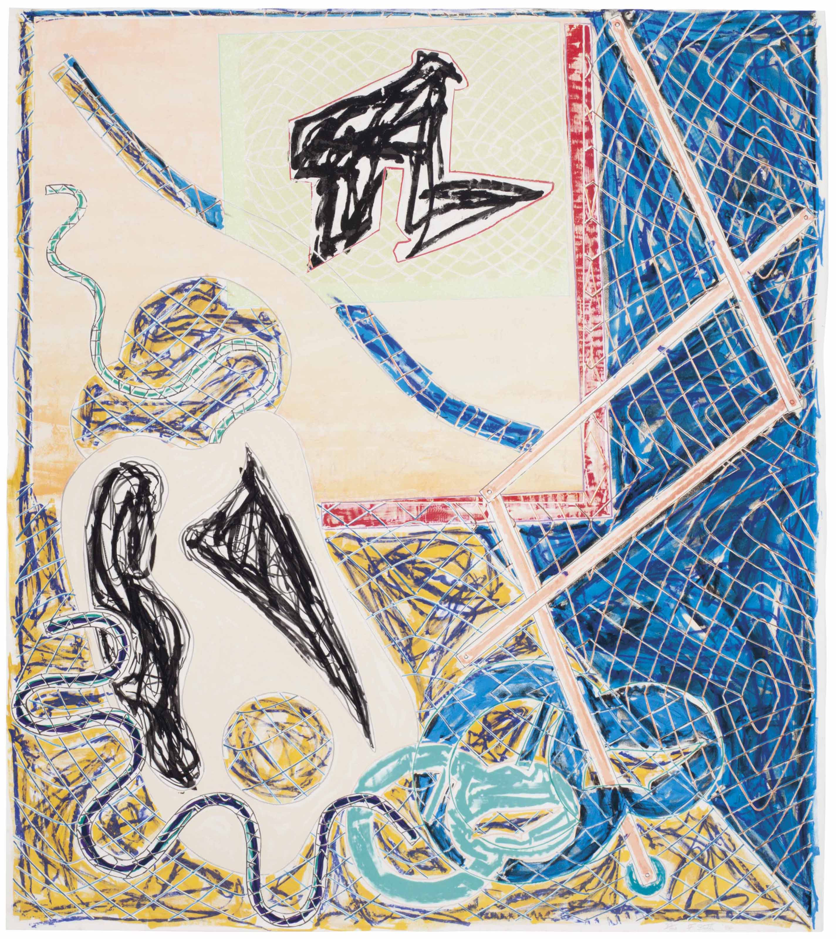 Frank Stella (American, b. 193