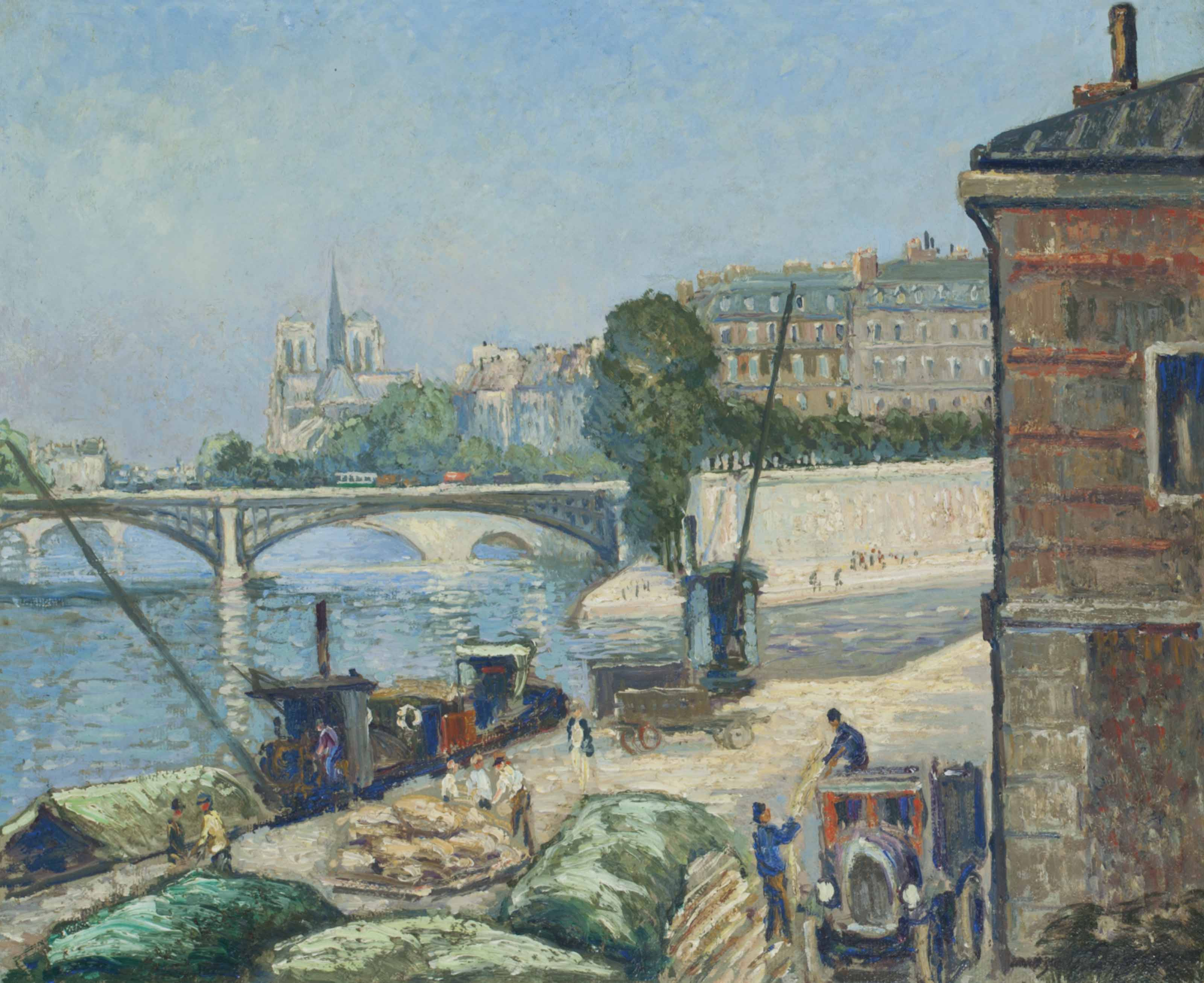 Georges Manzana-Pissarro (Fren